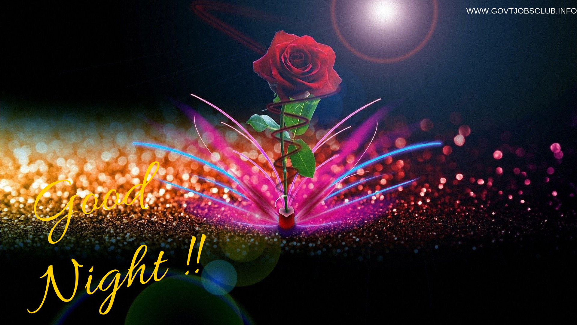 Best Good Night Images With Rose Hd Wallpaper And Pics Latest 2019 Download By Jyoti Agarwal Medium