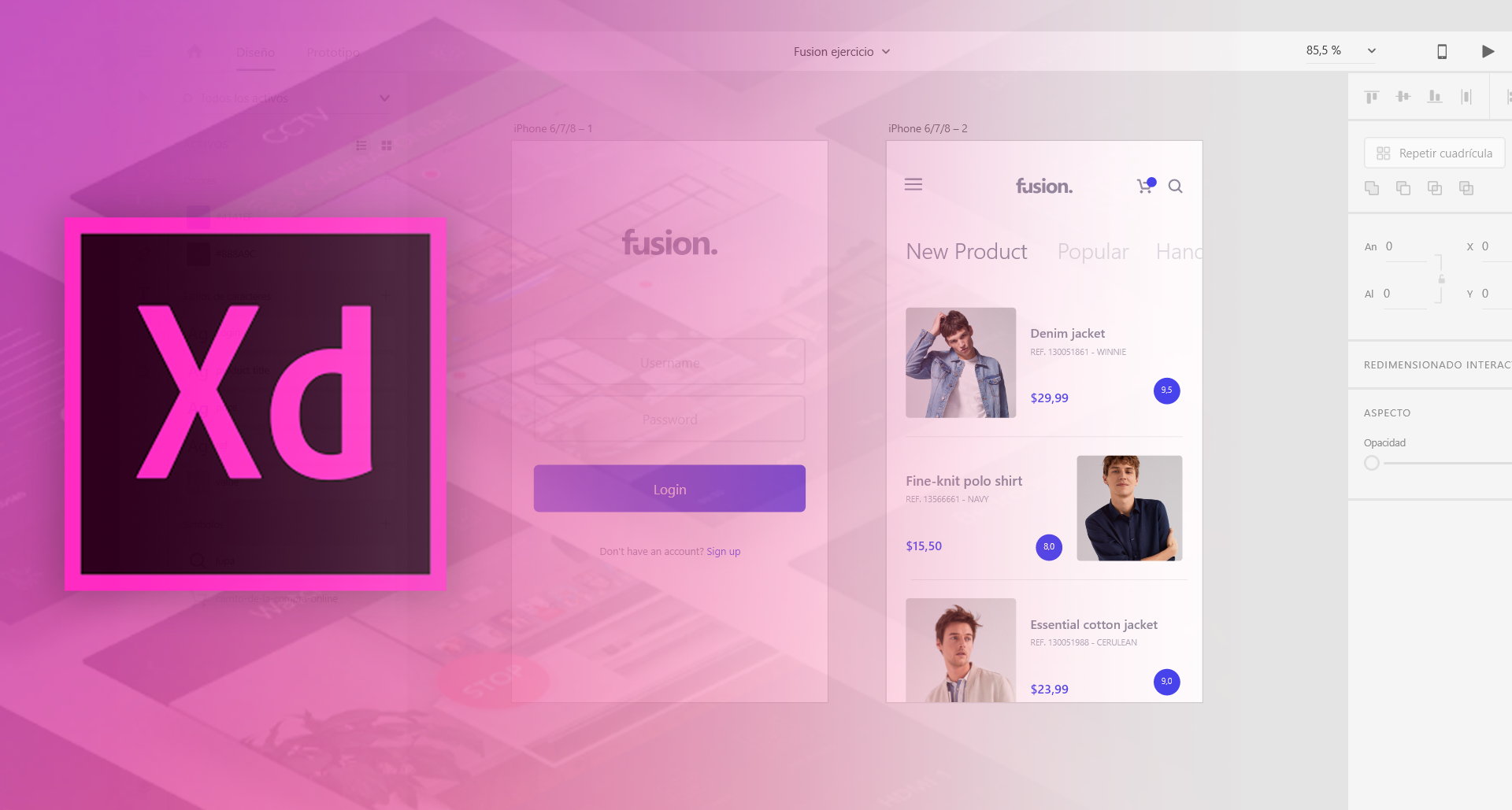 Using Adobe XD. Some things I missed and some things I…   by Carlota Antón   UX Planet