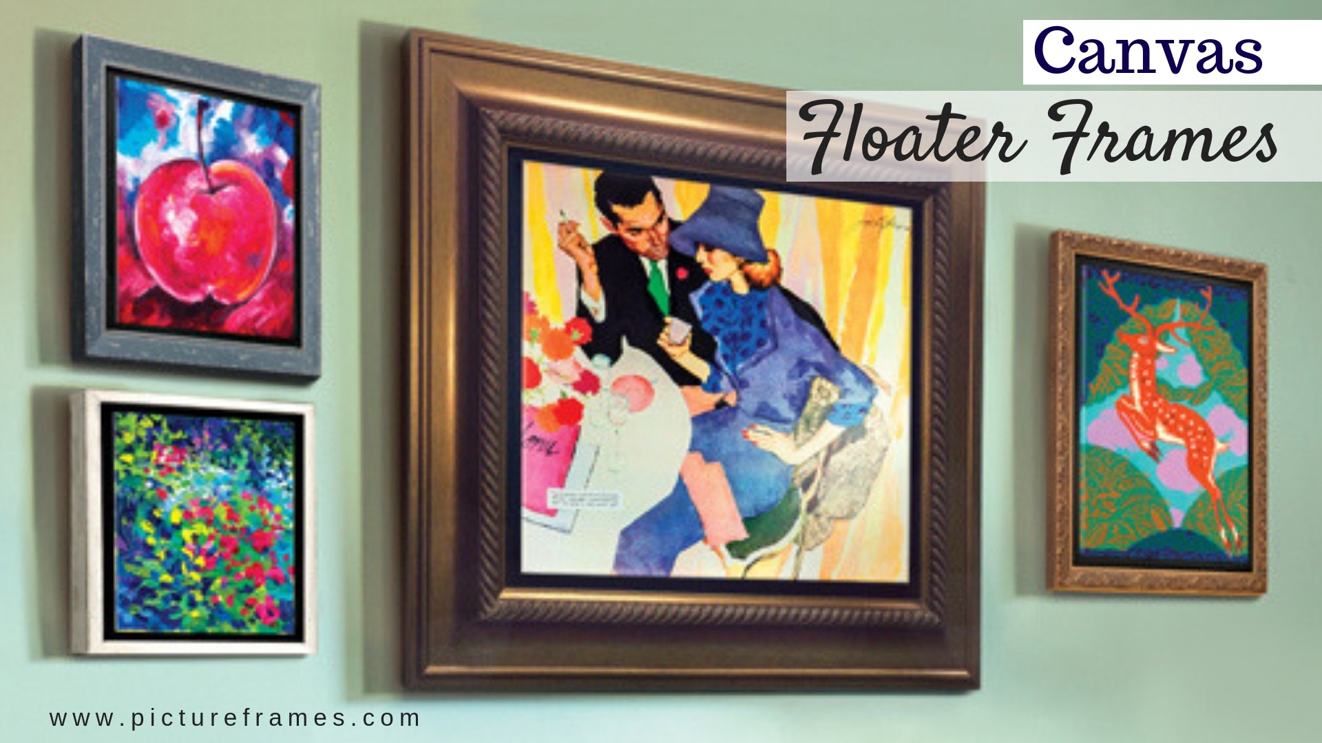 How To Frame Your Artwork Using Canvas Floater