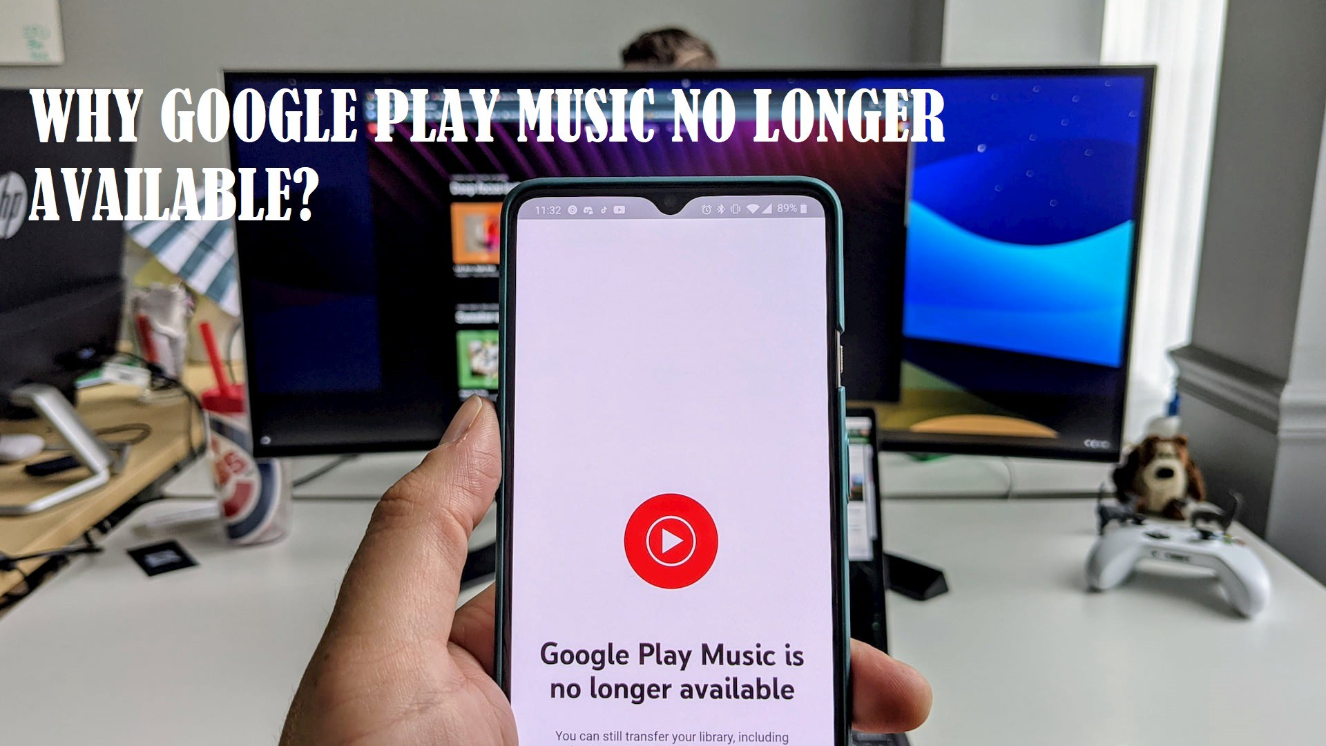Google Play Music no longer available