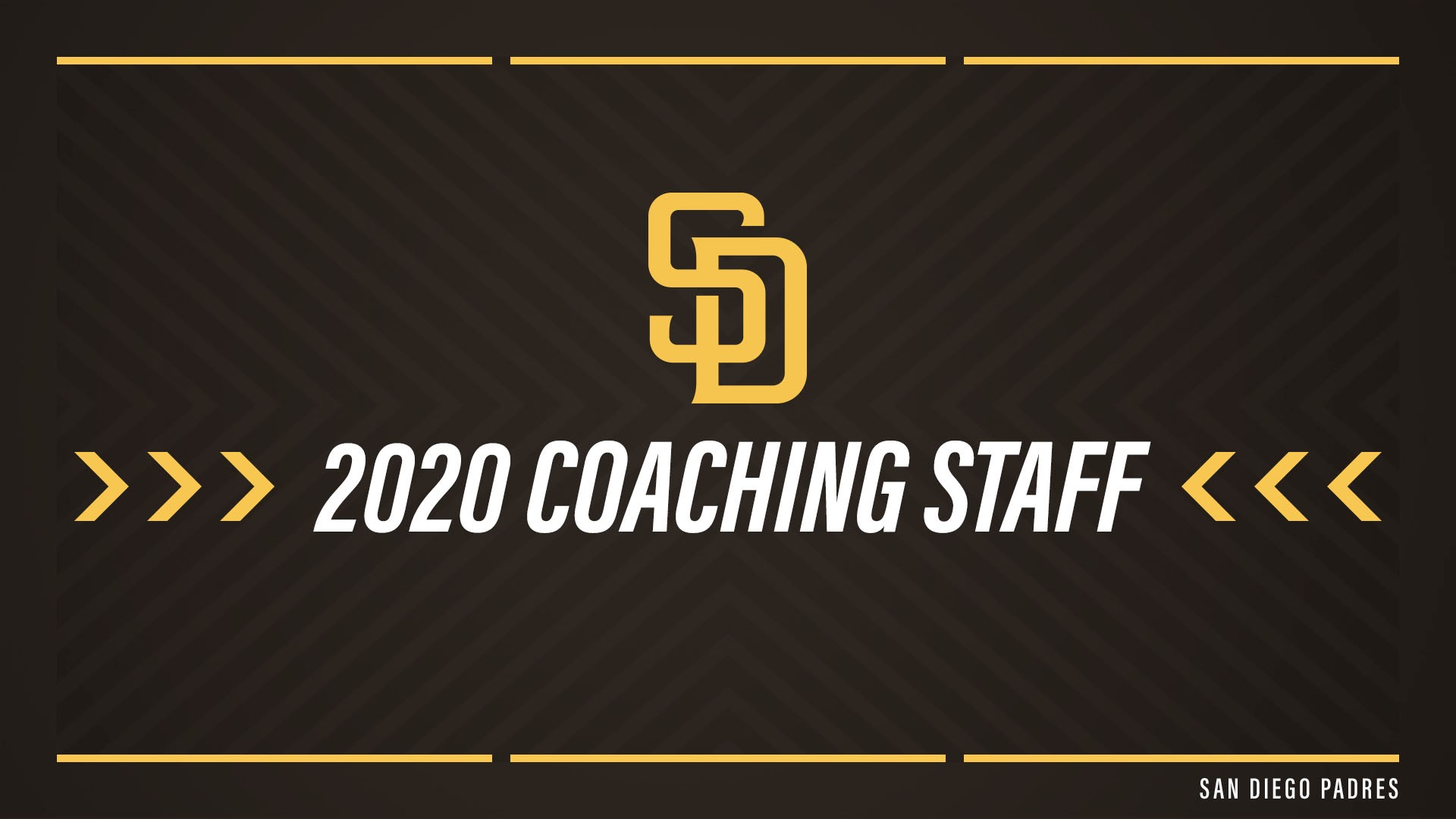 Padres Home Schedule 2020.Padres Announce 2020 Major League Coaching Staff Friarwire