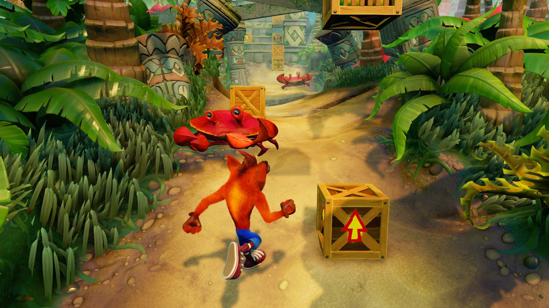 crash bandicoot n. sane trilogy remake