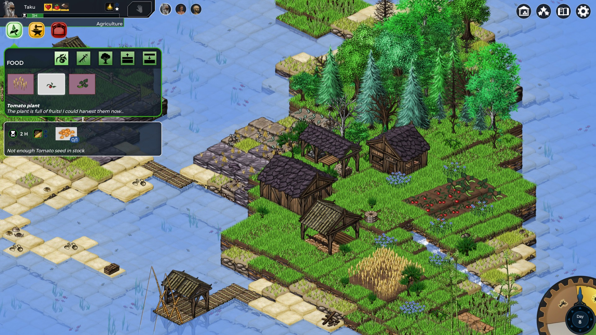 Survival & Building Games | Banished, Seeds of Resilience