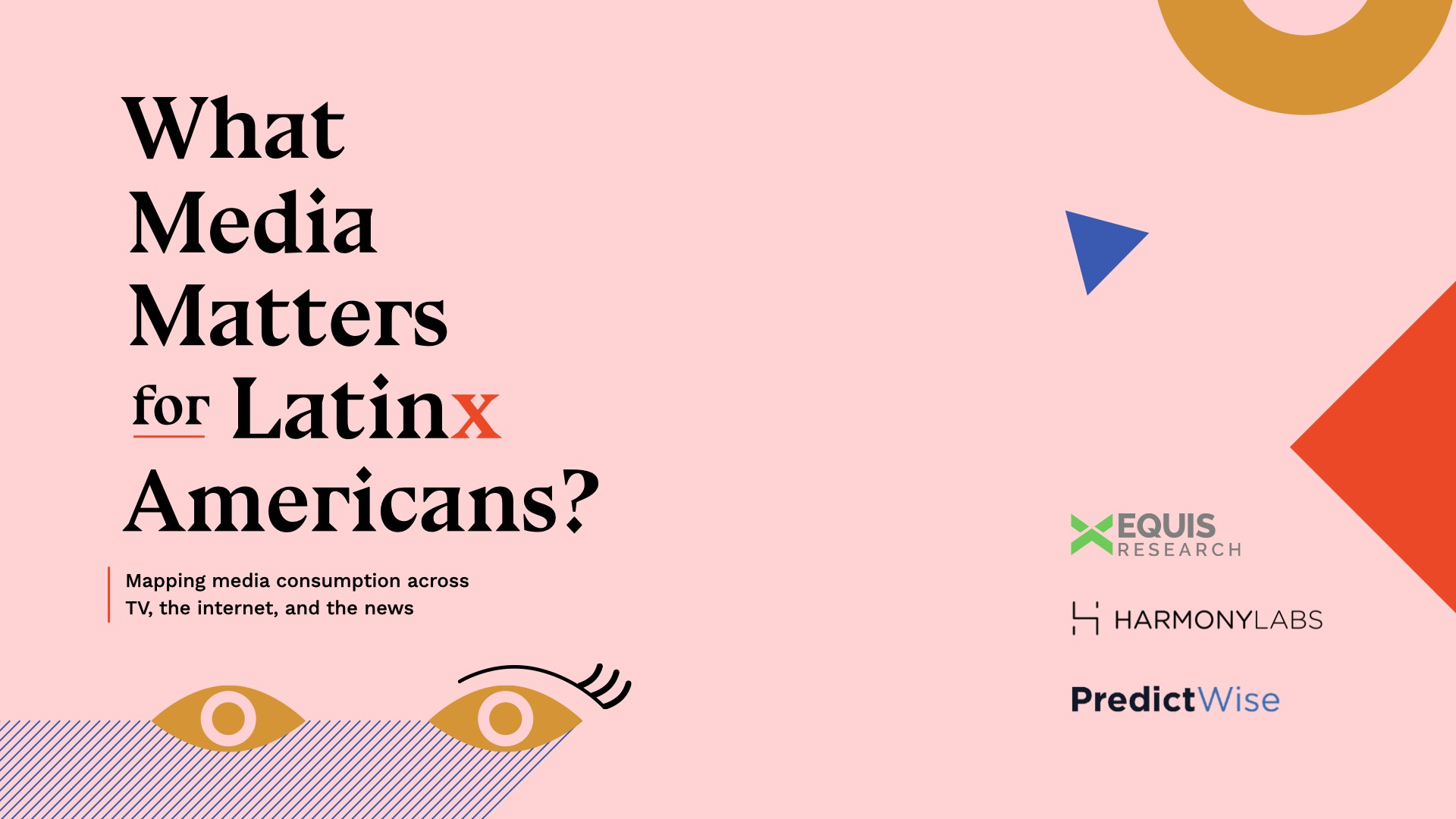Mapping media consumption across TV, online, and the news for Latinx Americans.