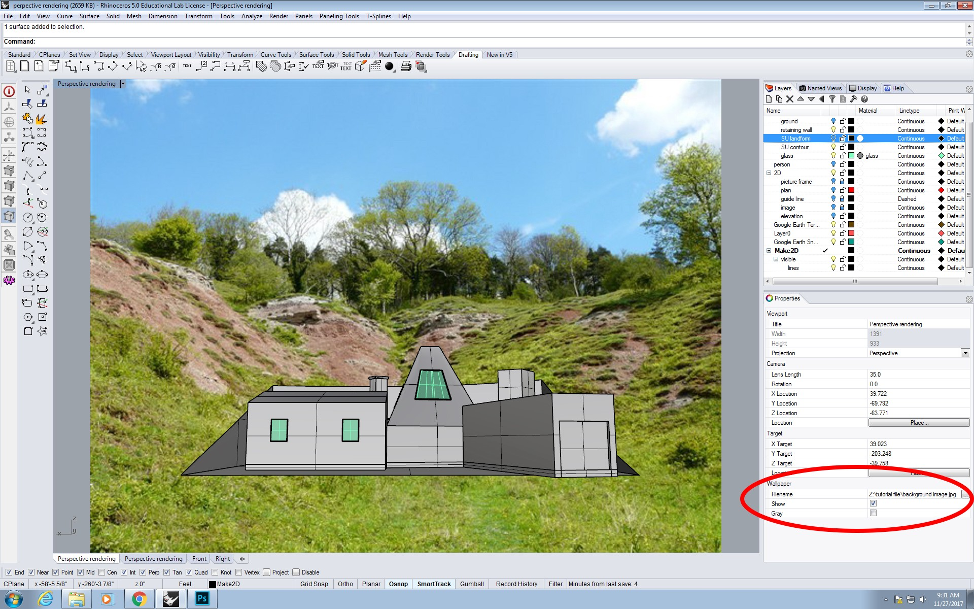 Perspective Rendering from Rhino to Photoshop - DPro - Medium