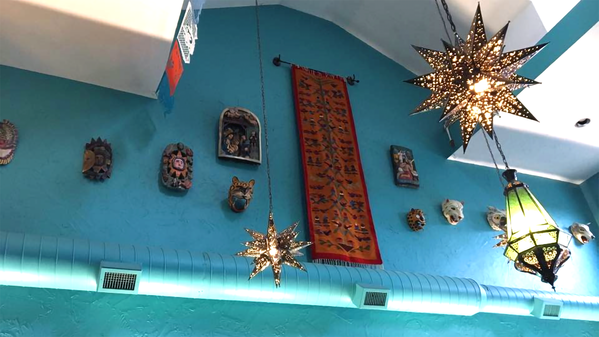 Decoration from La Palapa, Mexican Restaurant in Pittsburgh Source: La Palapa on Facebook