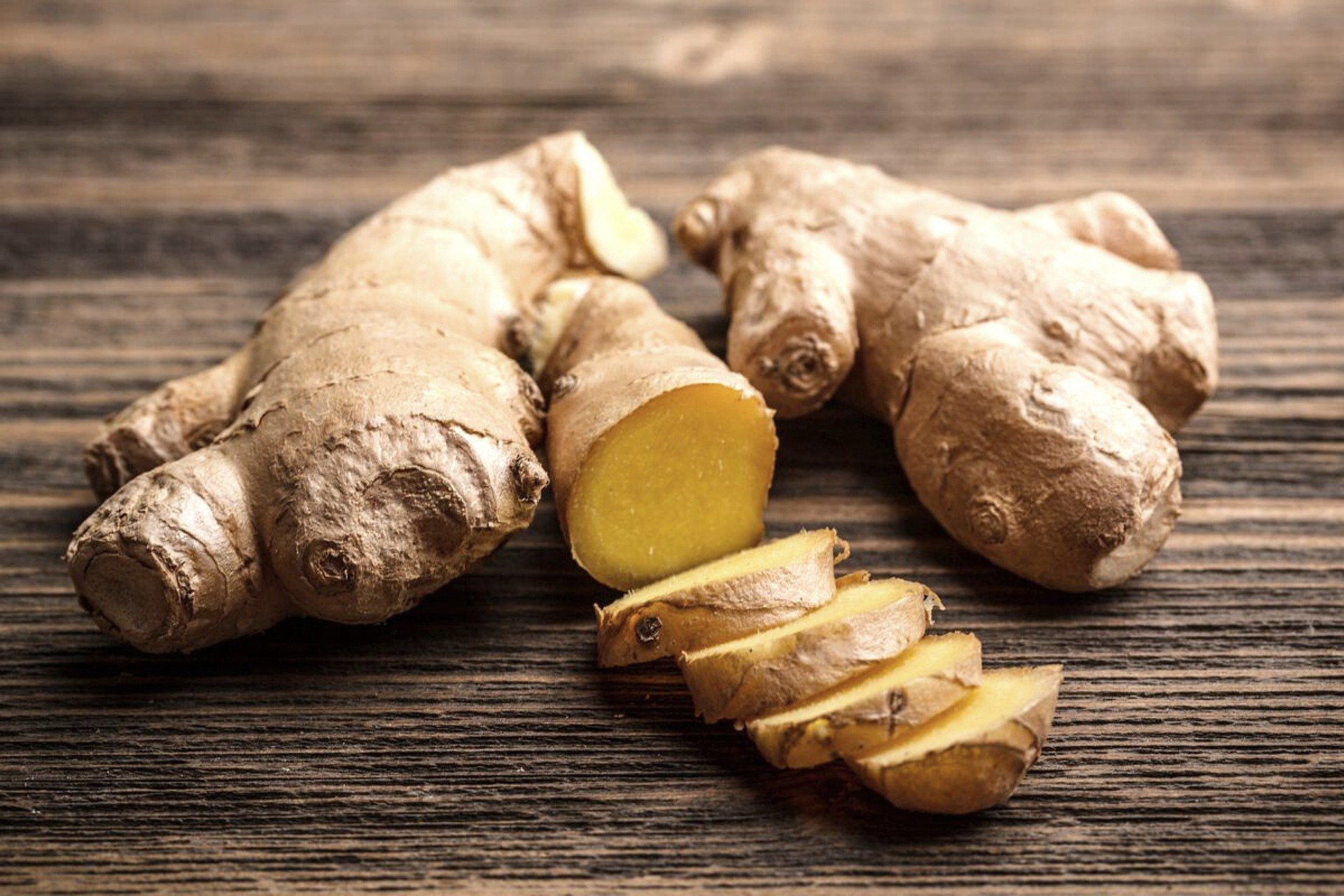 Ginger Root. Boost Immune System.