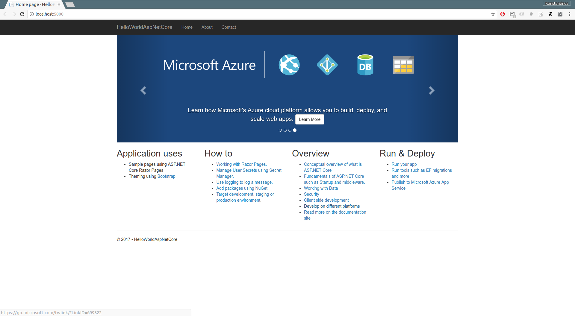 Automated Delivery of ASP NET Core Apps on On-Prem Kubernetes