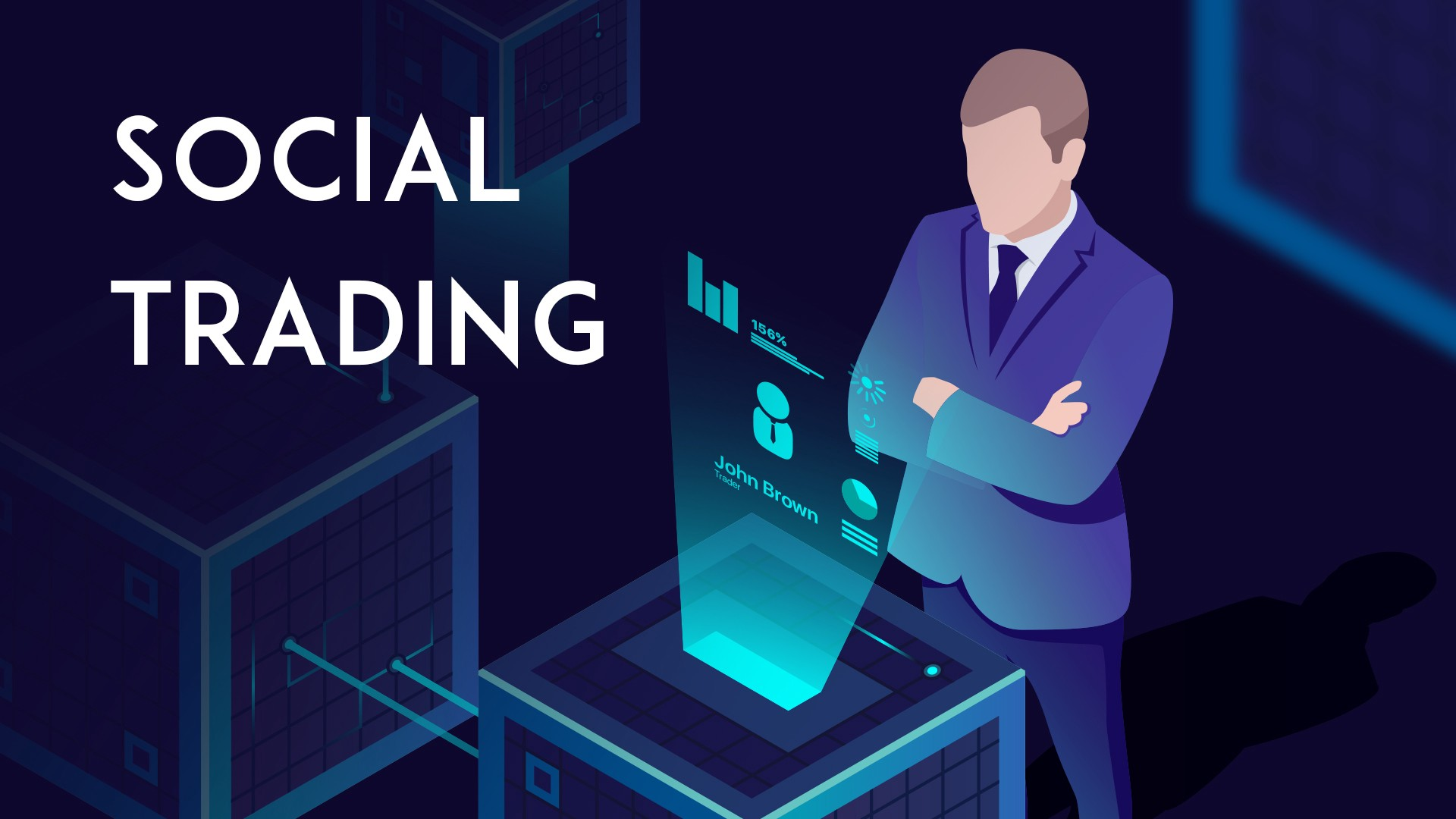 Social trading. Since 2016 the amount of blockchain… | by Bistox Exchange |  Medium