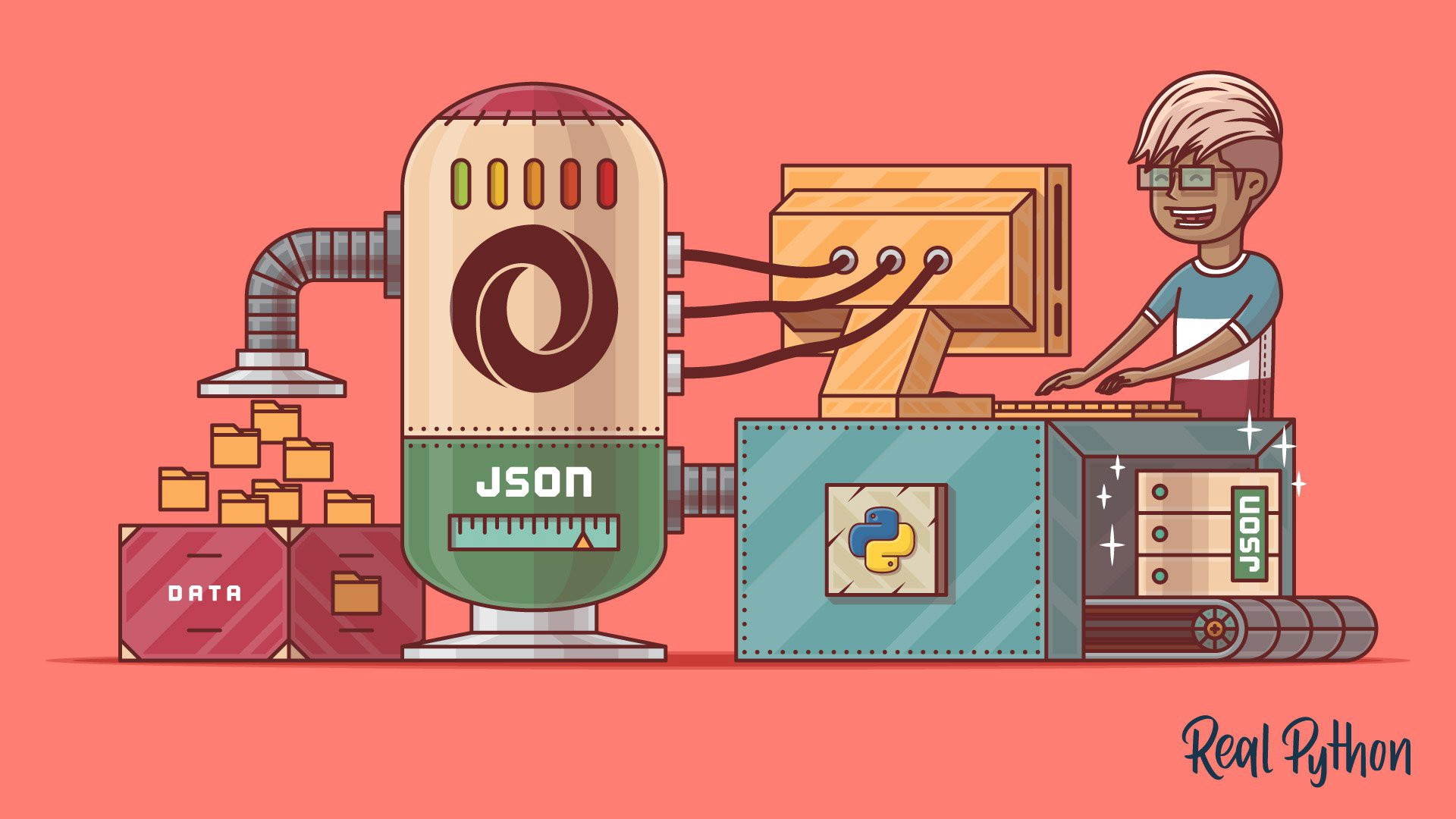 Extract The Useful Data from JSON File For Machine Learning