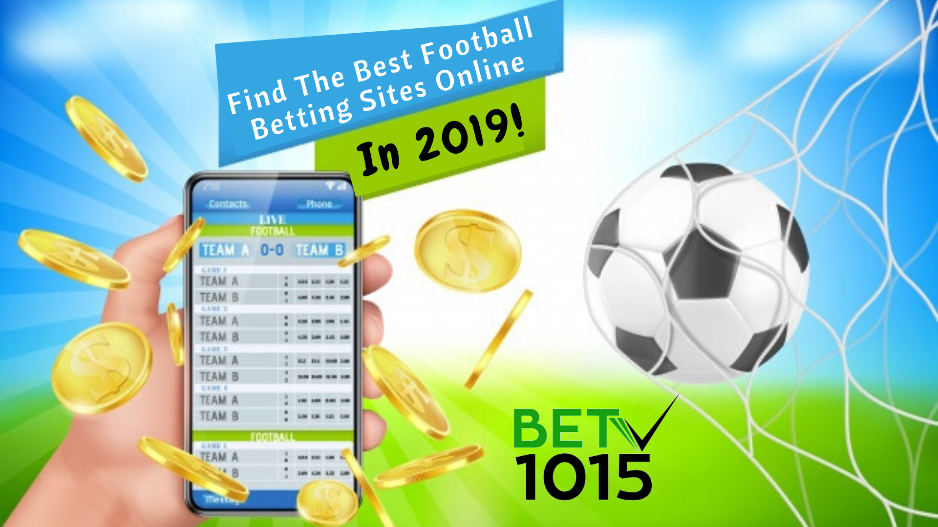Football online betting site sports betting legal in india