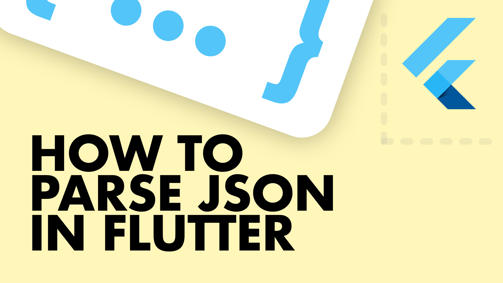 How to parse Json in Flutter for Beginners - Flutter