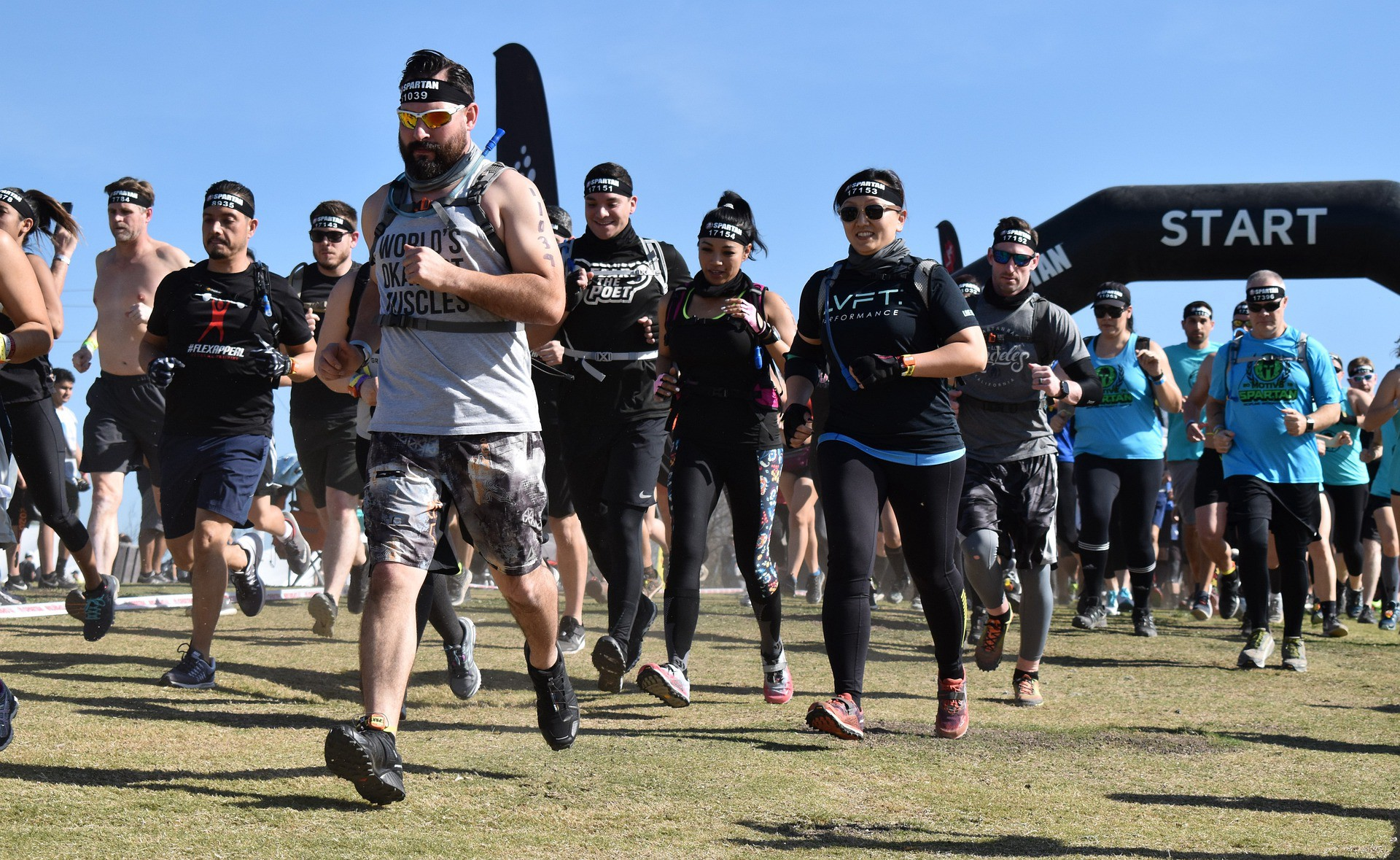 Spartan Fitness Challenge Competition Race