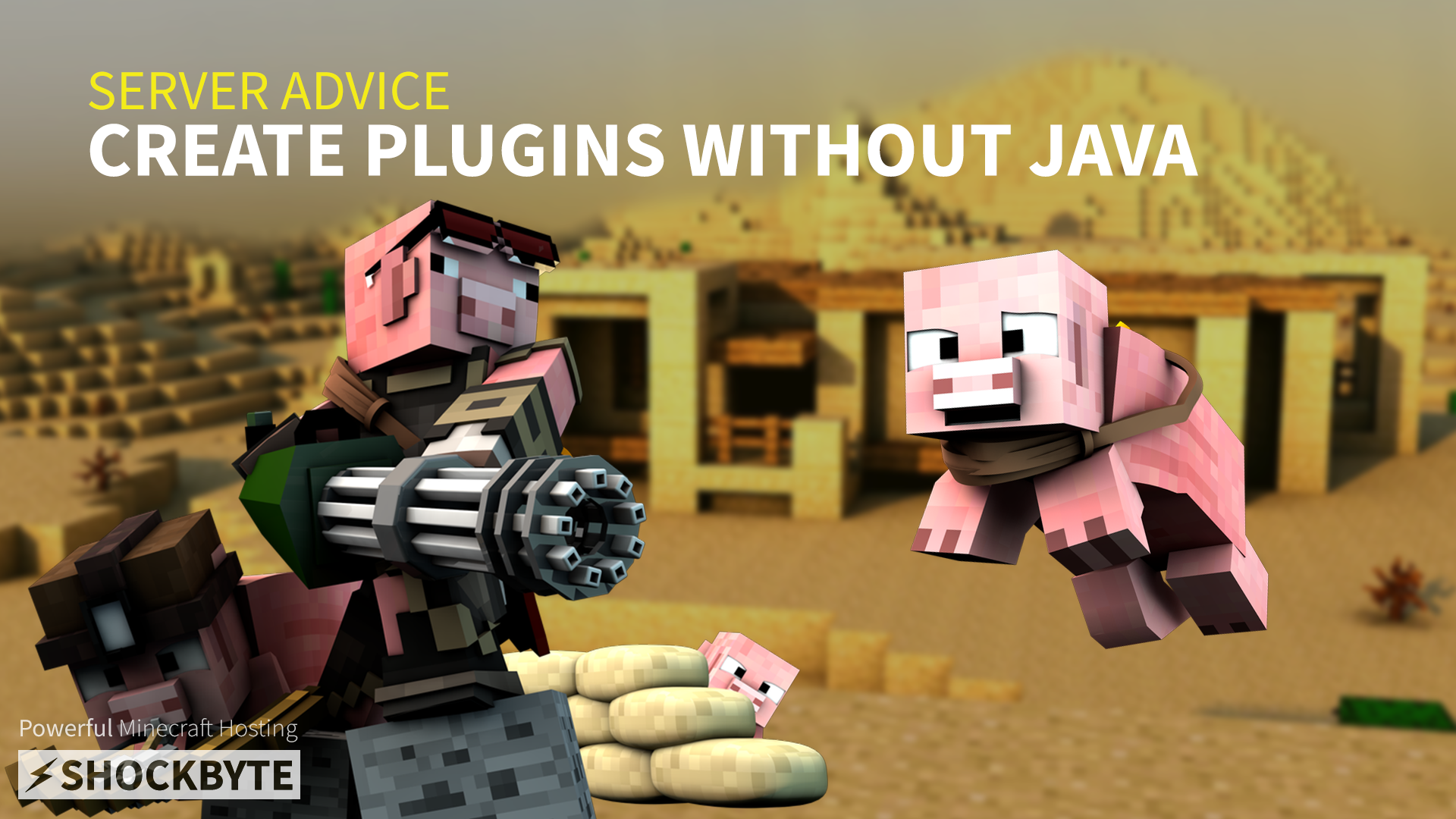 Create Minecraft plugins without Java - Shockbyte - Medium