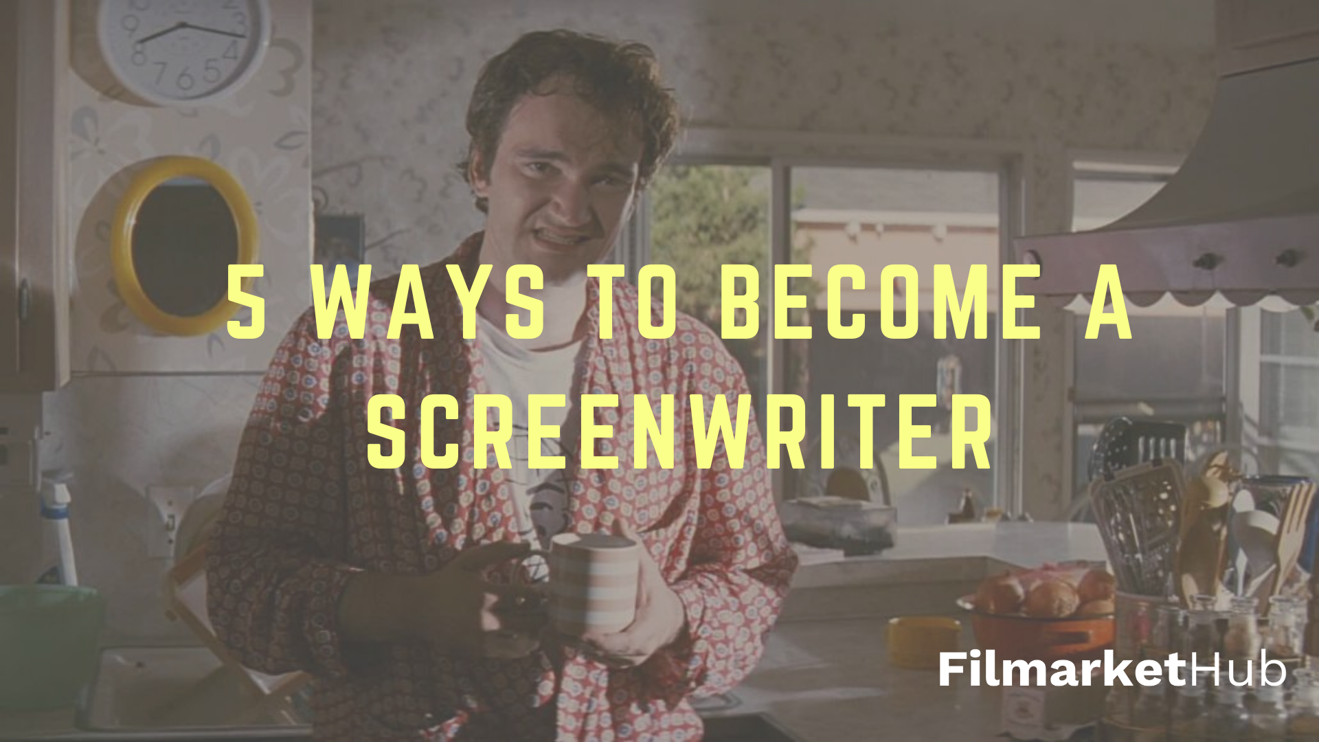 12 WAYS TO BECOME A SCREENWRITER. Background analysis of 12 popular
