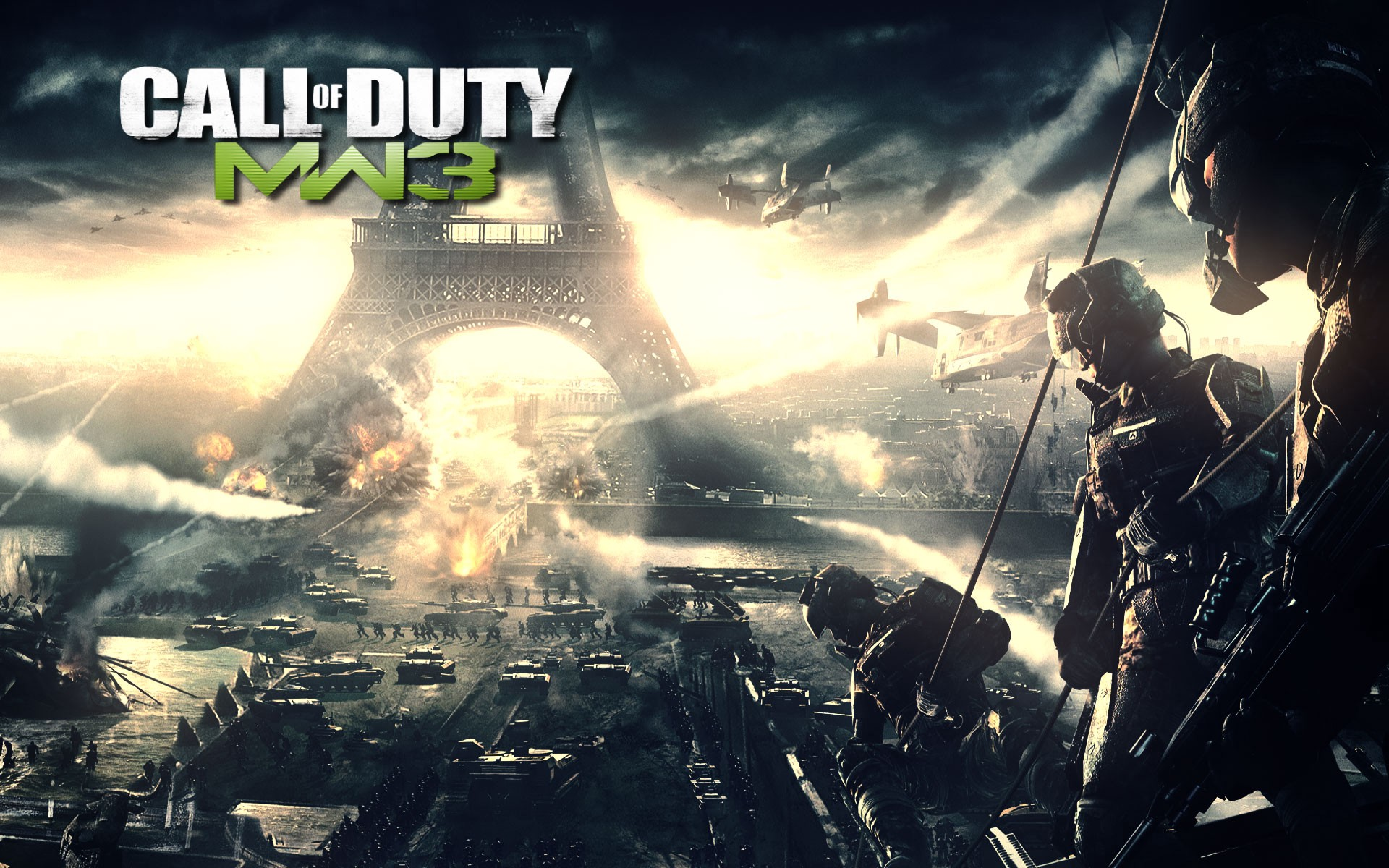 Join The War With Call Of Duty Modern Warfare 3 By Radney