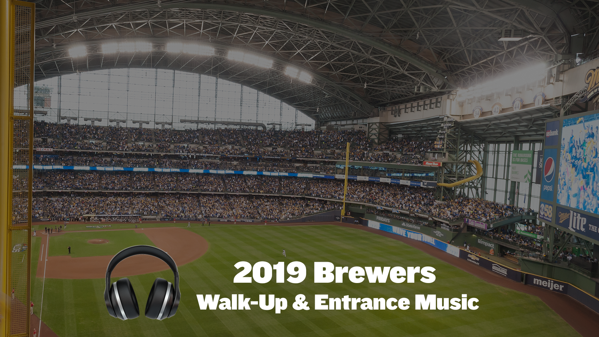 2019 Brewers At Bat & Walk-Up Music - Cait Covers the Bases