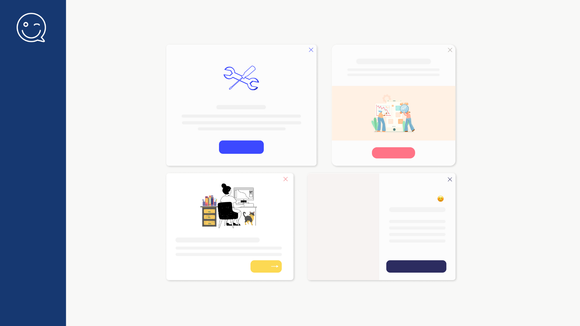 Helppier—Introducing a library of ready-to-use in-app messaging templates for SaaS owners and product professionals