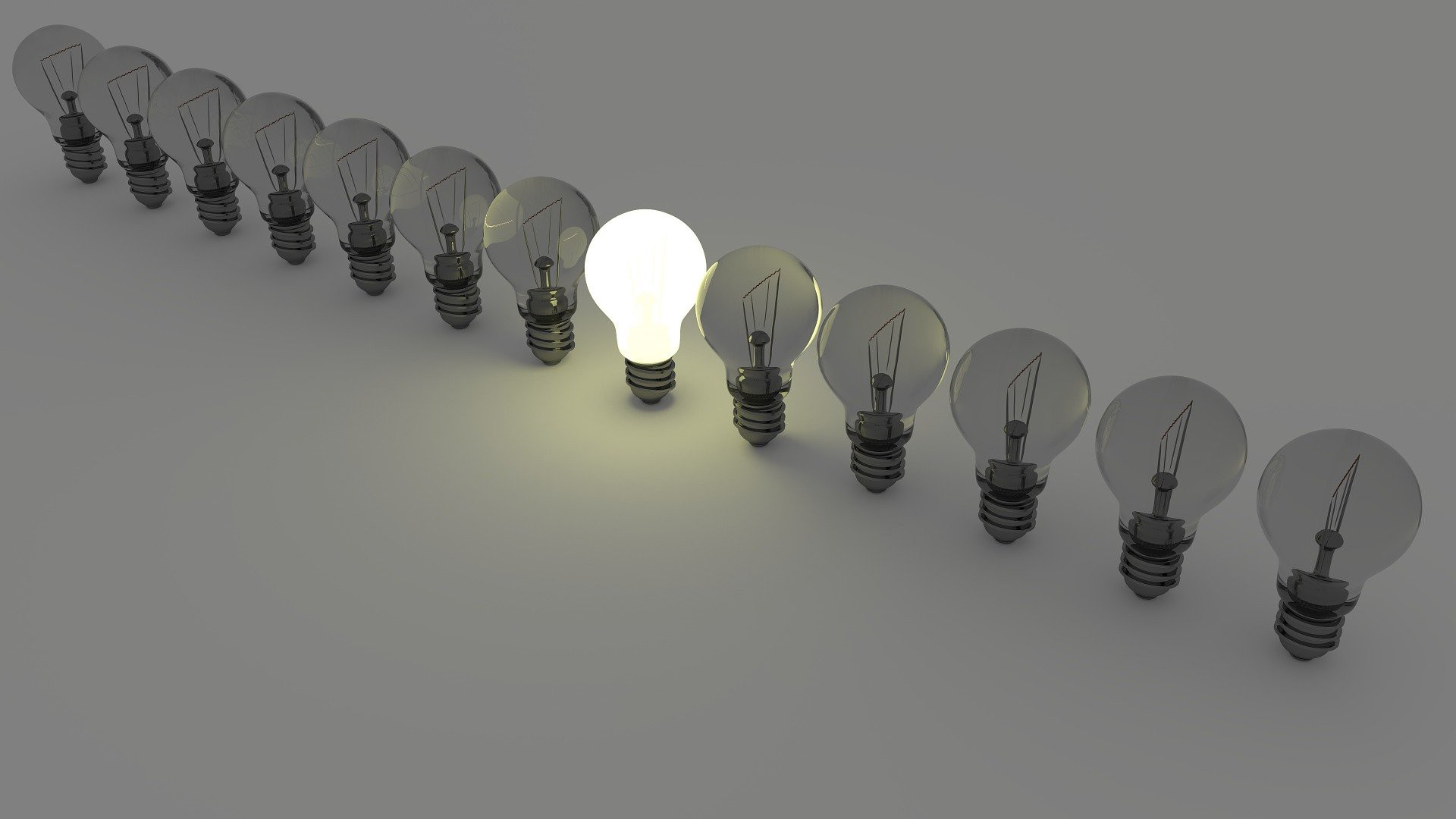 light bulbs, ideas