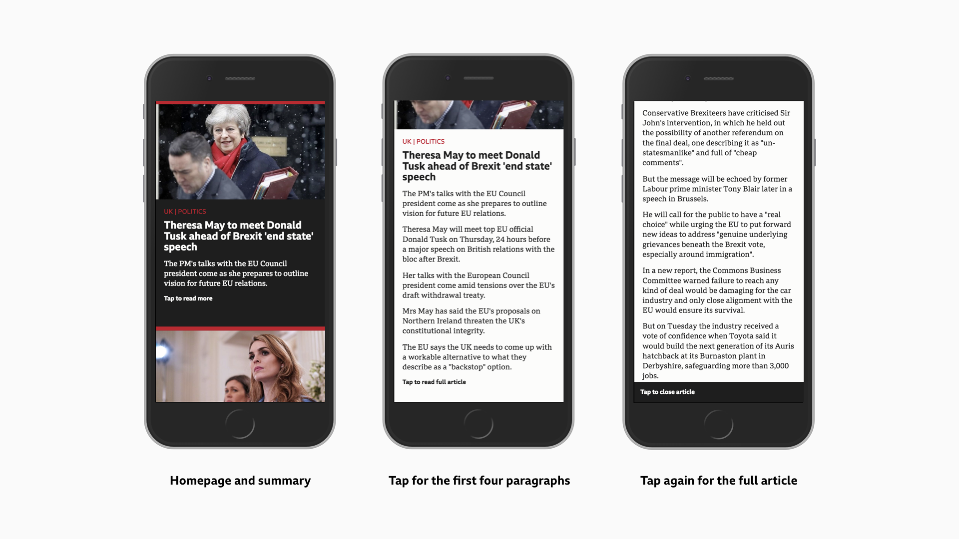 Beyond 800 words: News formats for personalising and