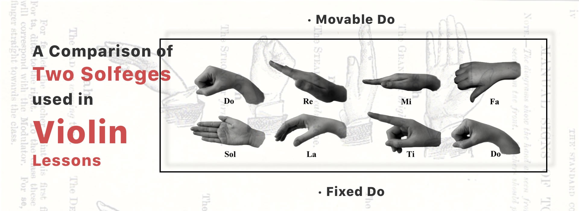 A Comparison of Movable Do & Fixed Do   Solfeges used in Violin ...