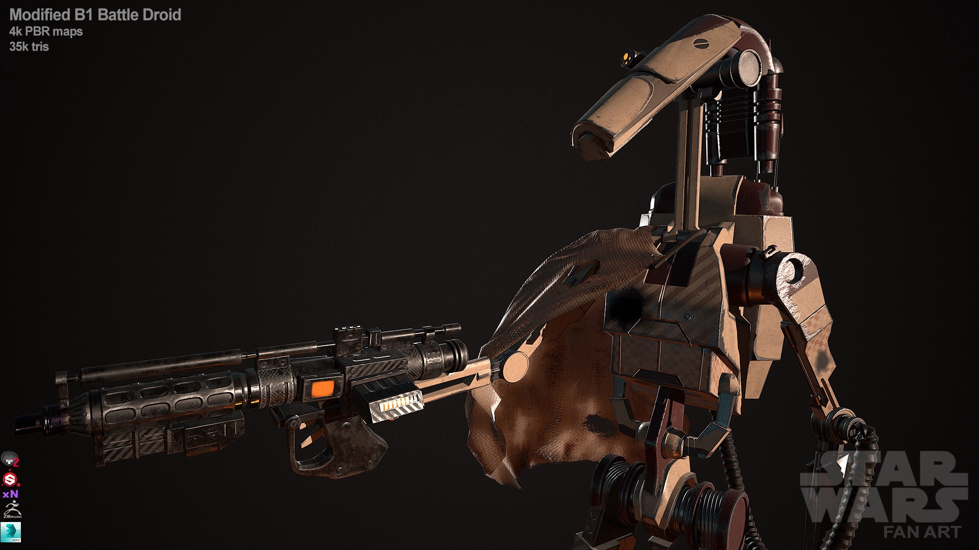 Good Morning My Thoughts On B1 Battle Droid Units By Simp Mind Fed Duh Medium