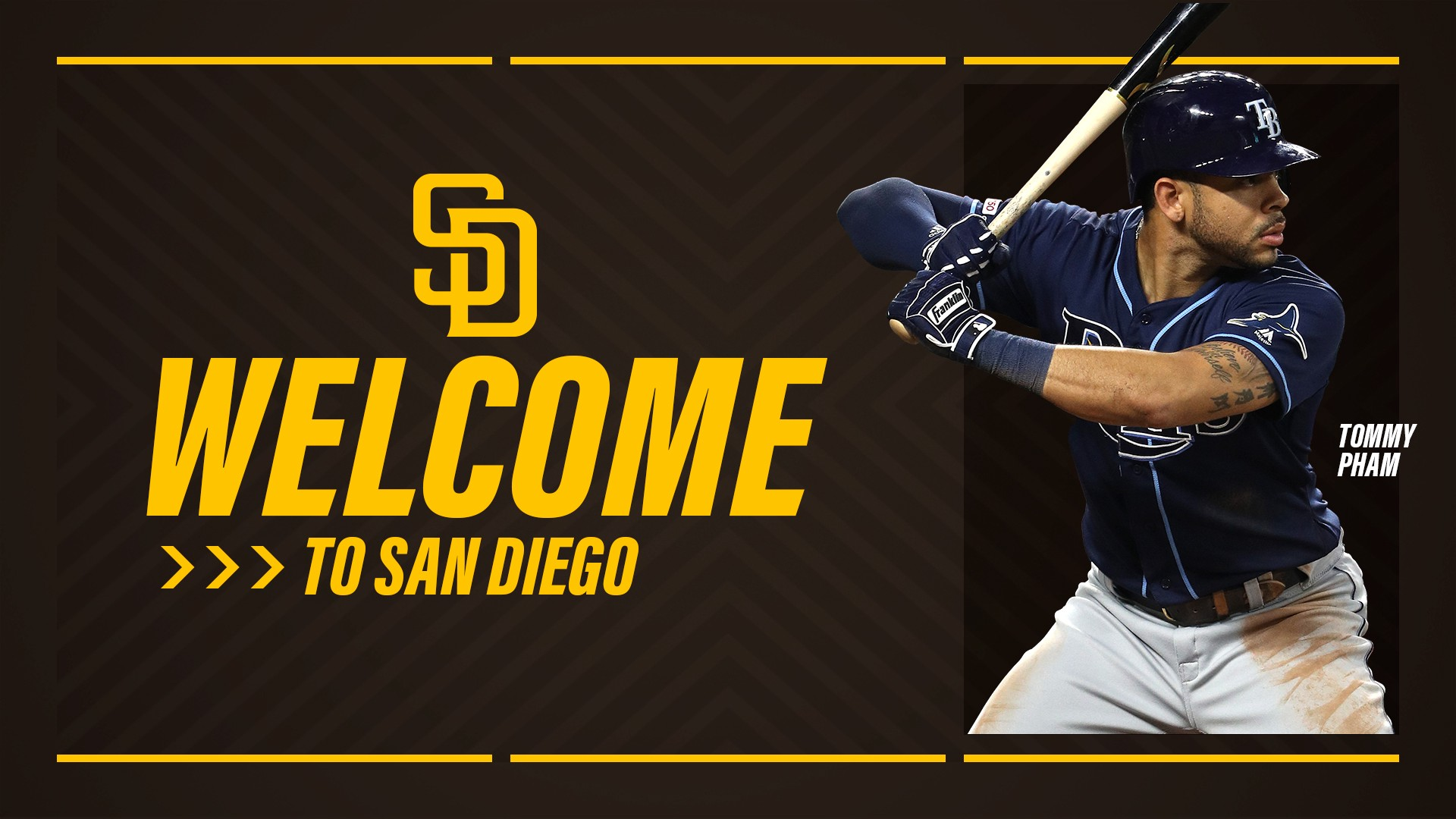 Padres Acquire Of Tommy Pham And Inf Rhp Jake Cronenworth From