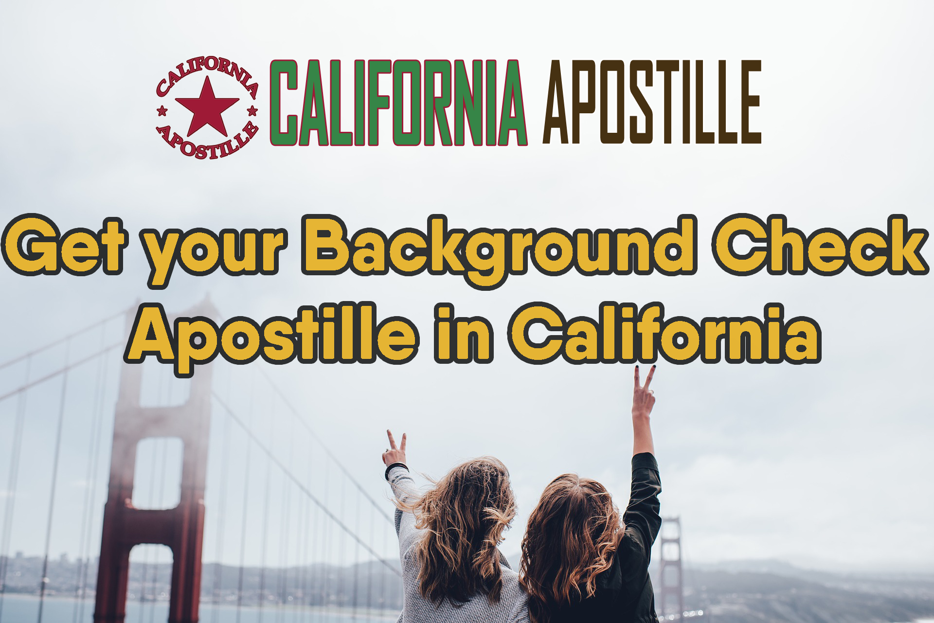 The Fastest Way To Get your Background Check Apostilled in
