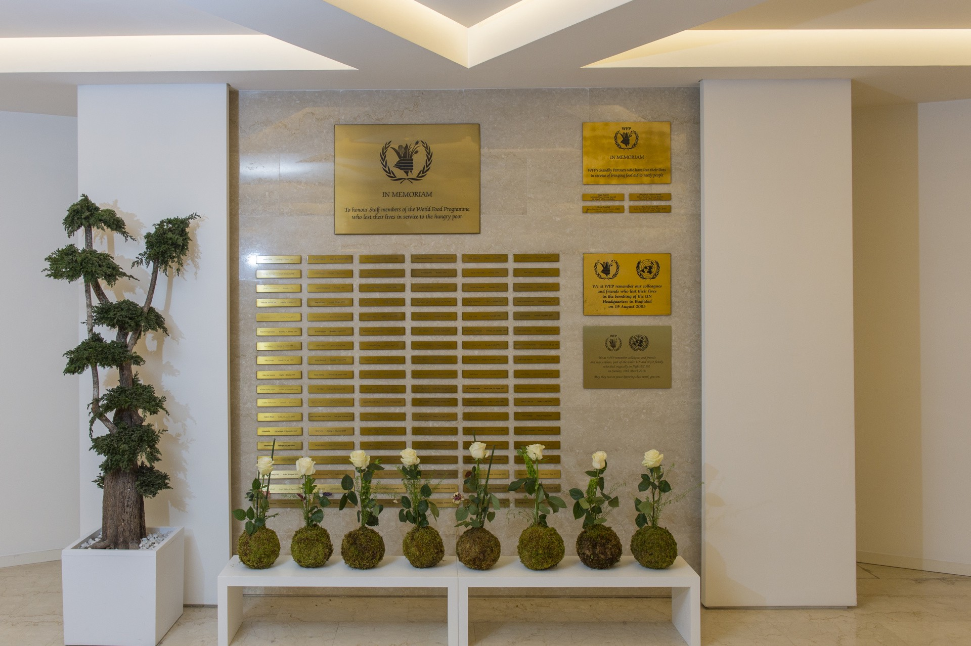 Wfp Remembers Lost Colleagues One Year Ago The World Food Programme By World Food Programme World Food Programme Insight