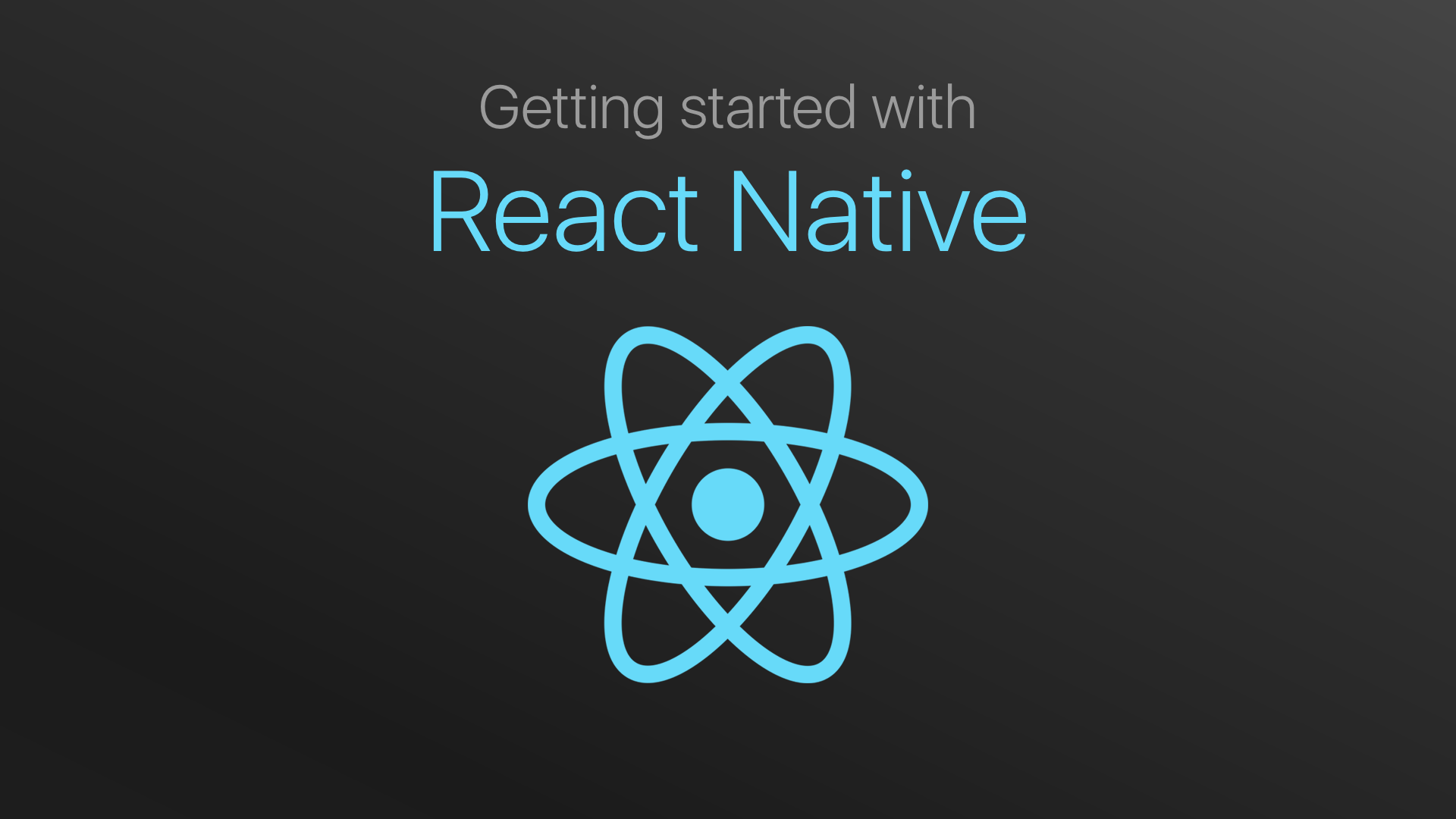 Setting Up Development Environment Using React Native on Windows