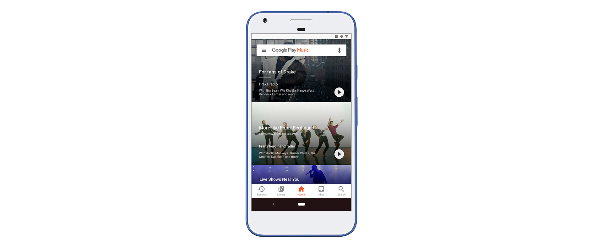 Google Play Music: experience, values and motivation — a UX