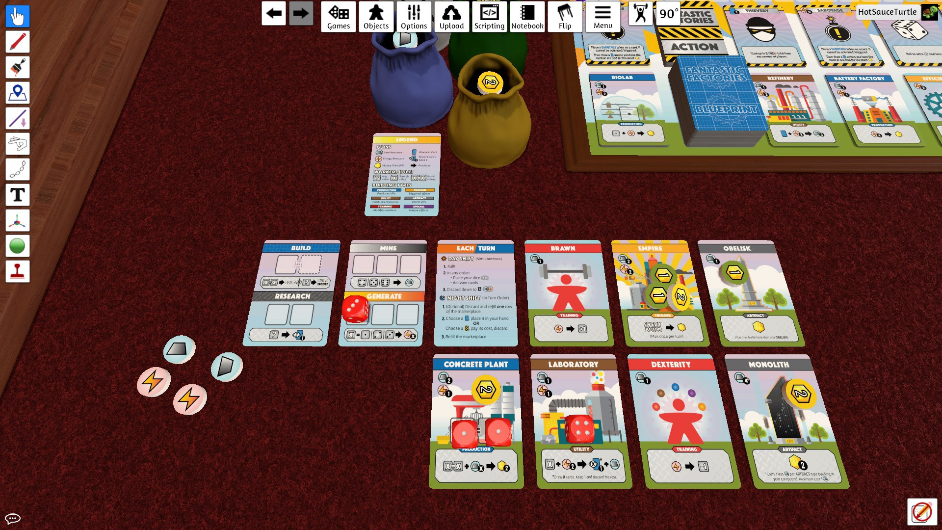 When should you be using Tabletop Simulator when developing