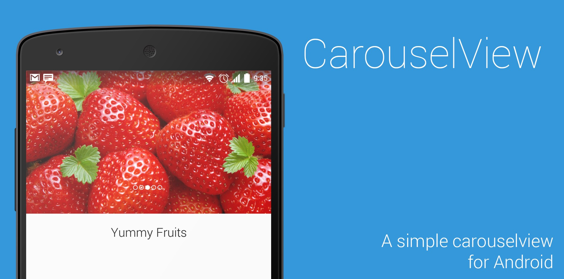 Create Carousel Easily in Android App with CarouselView