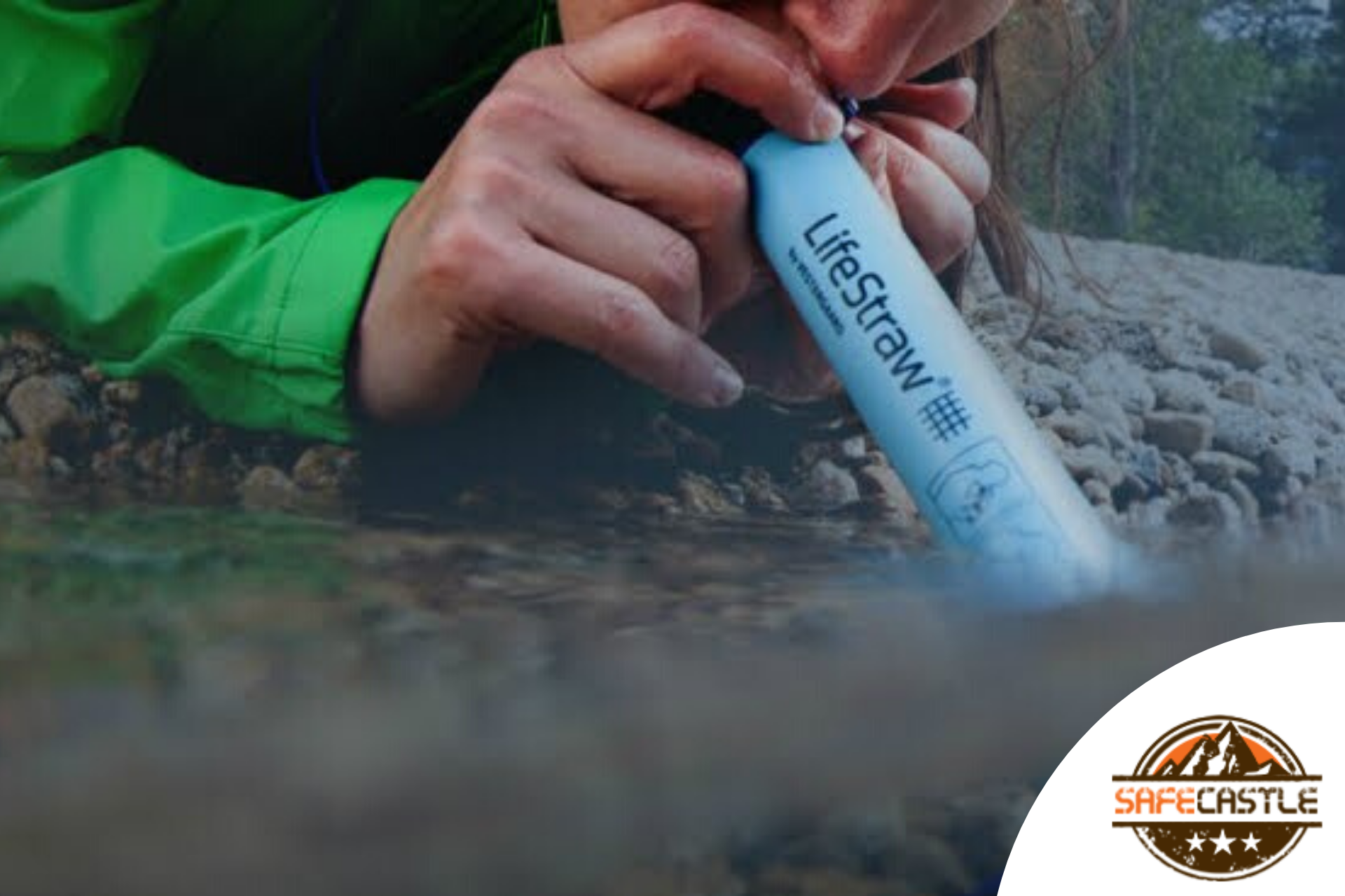 PORTABLE WATER FILTER FOR EMERGENCY