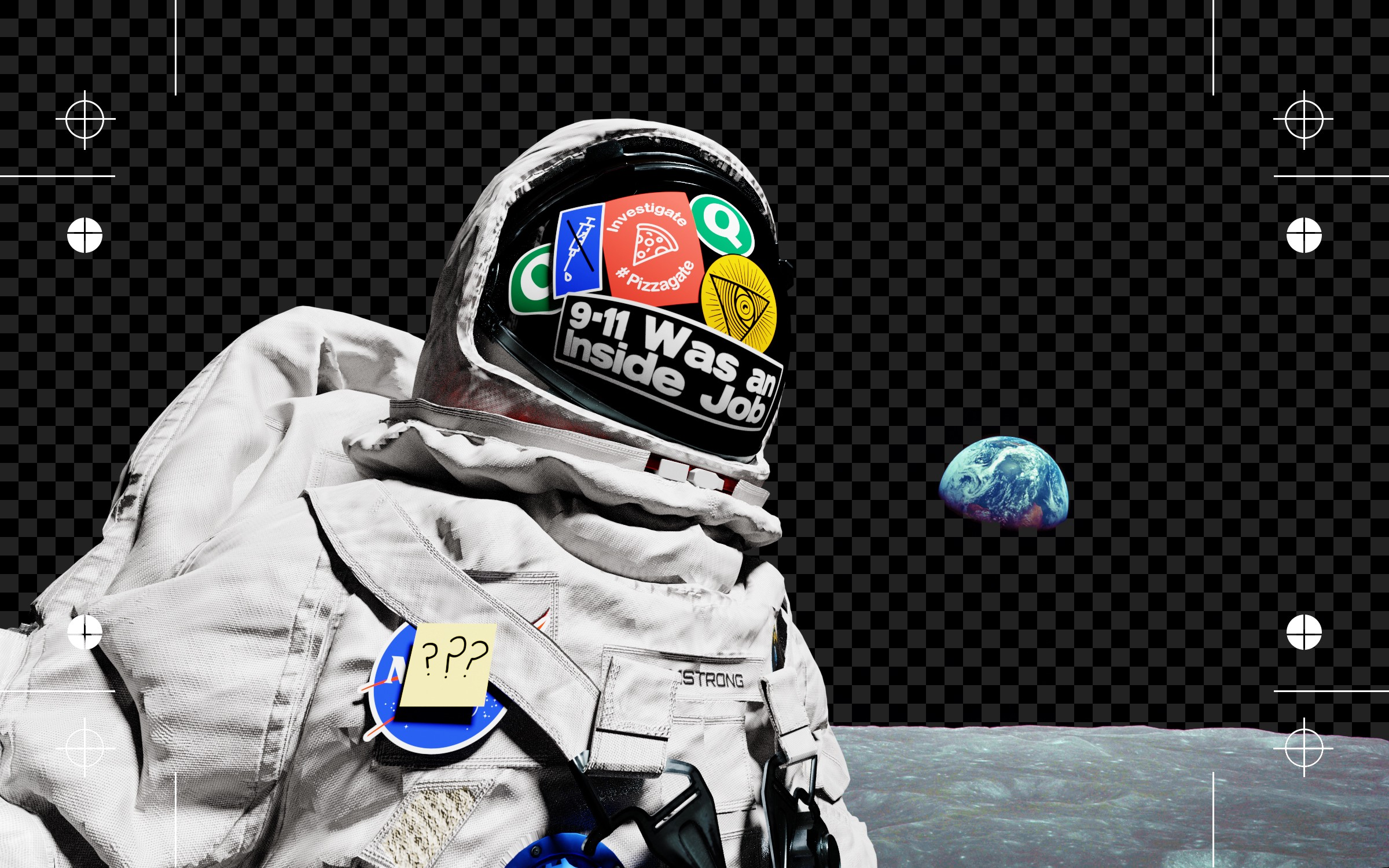 The Moon Landing Hoax Theory Started as a Joke