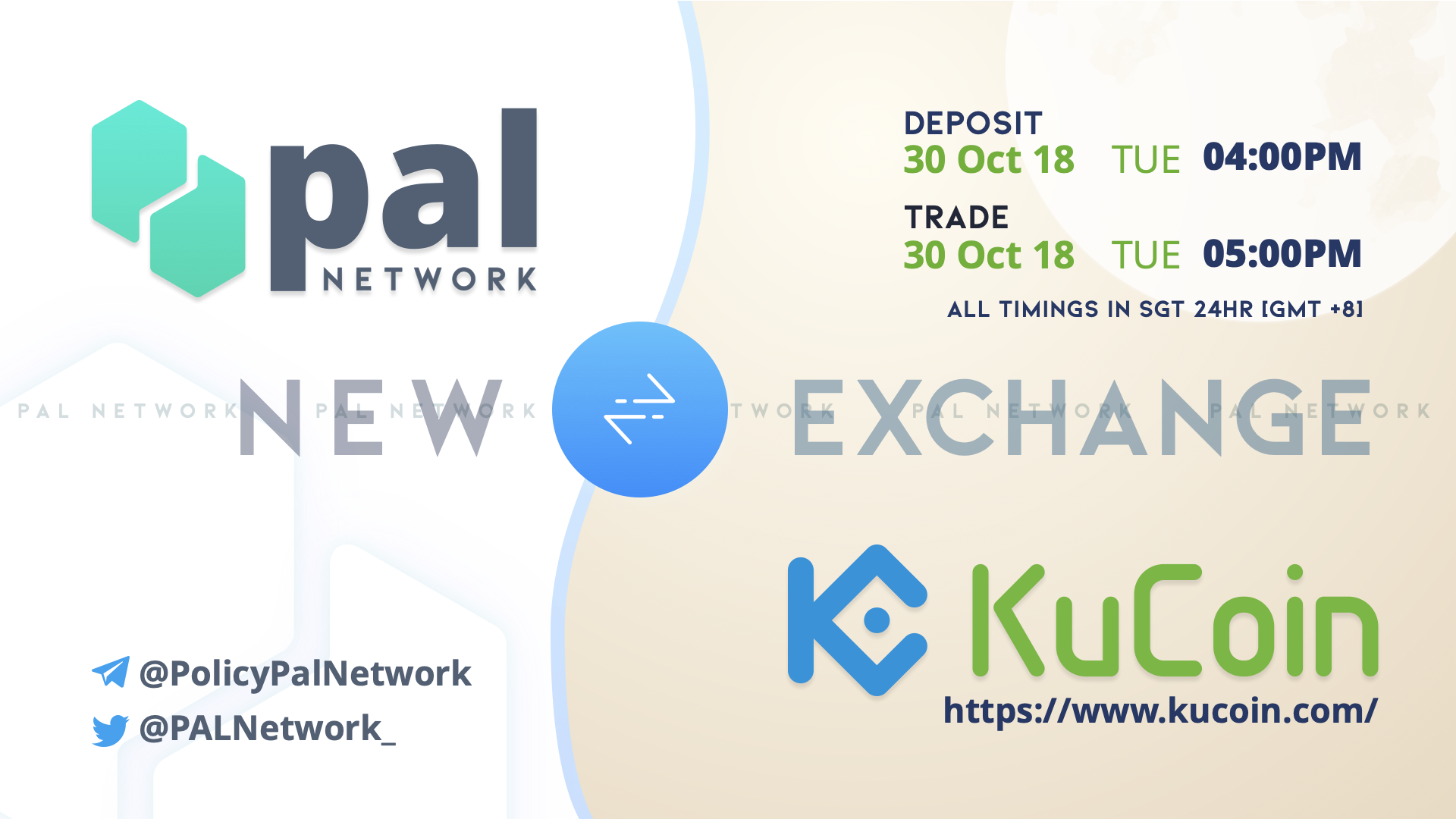PAL Network Now Listed on KuCoin + Trading Competiton