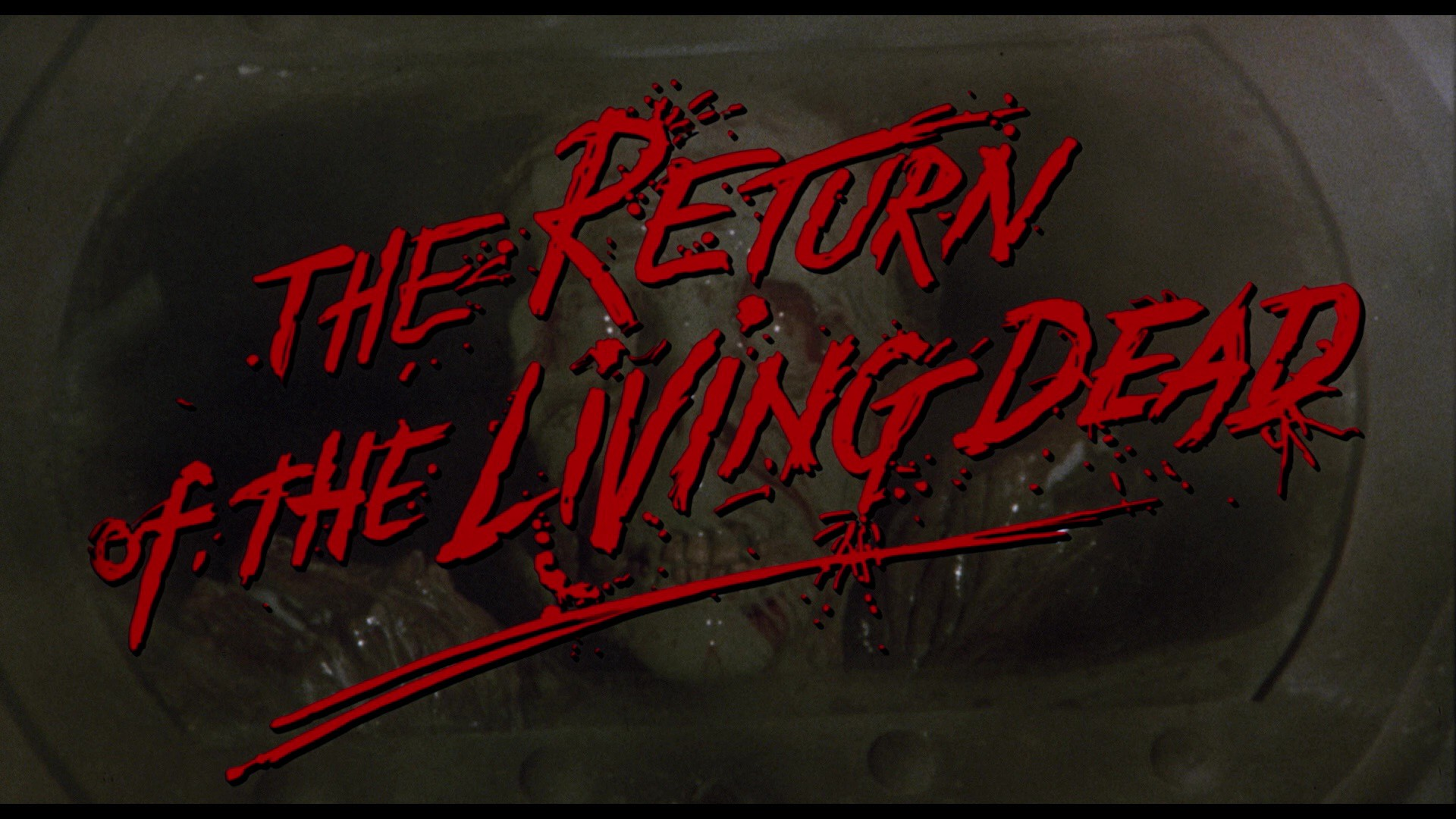 The Return Of The Living Dead Scream Factory Blu Ray Review With
