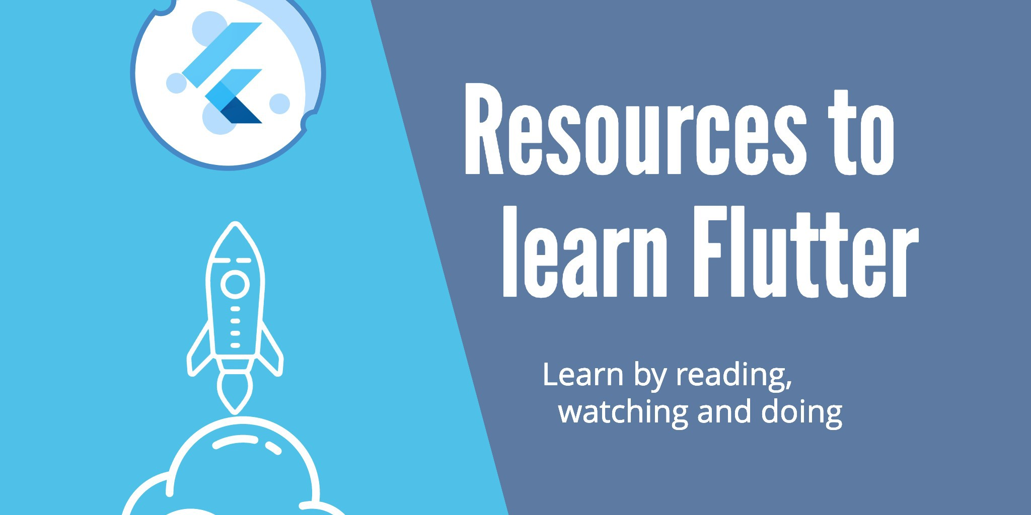 Resources to learn Flutter