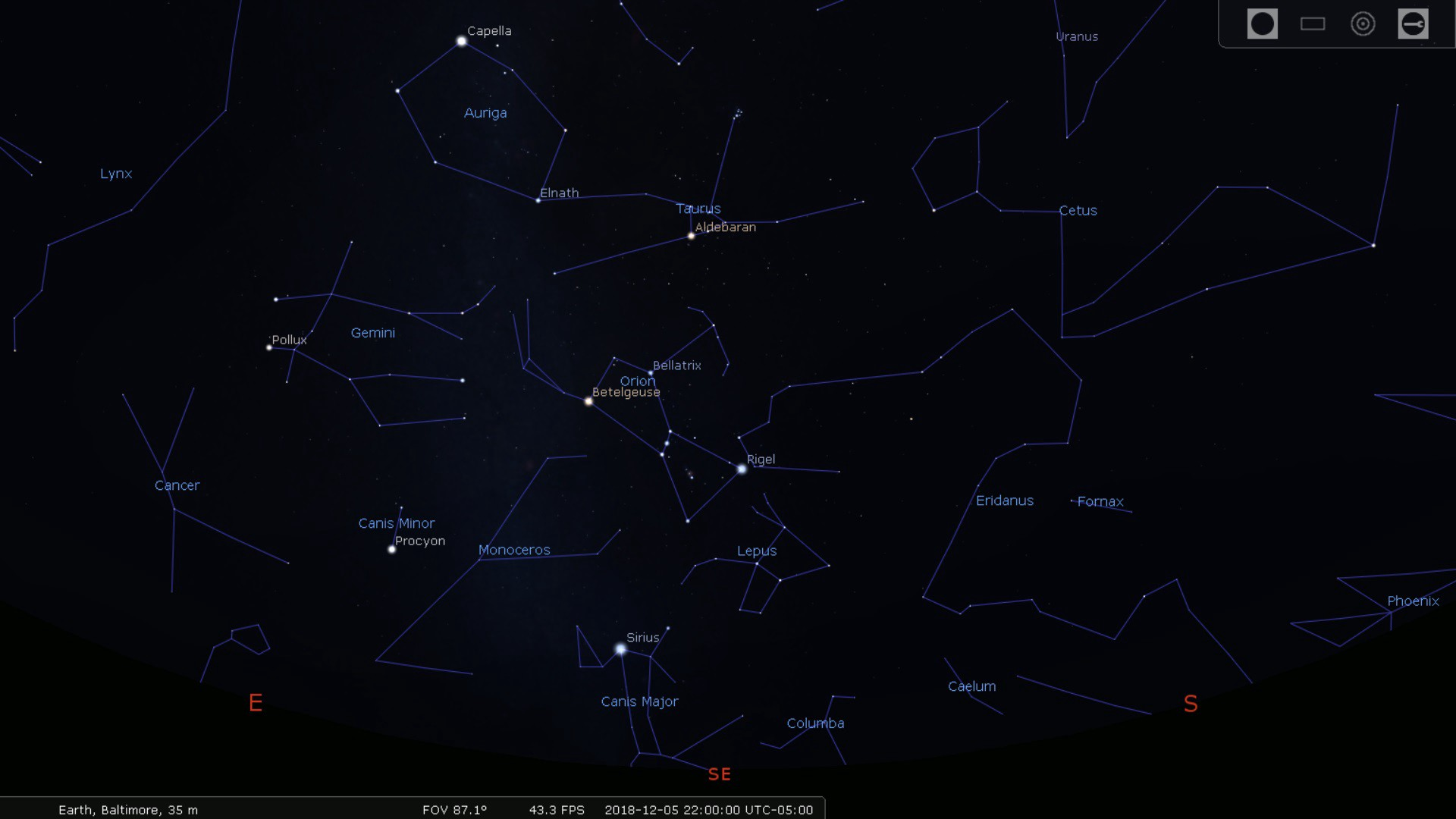 The Winter Hexagon Finding Your Way Among The Stars By Dale E Lehman Medium