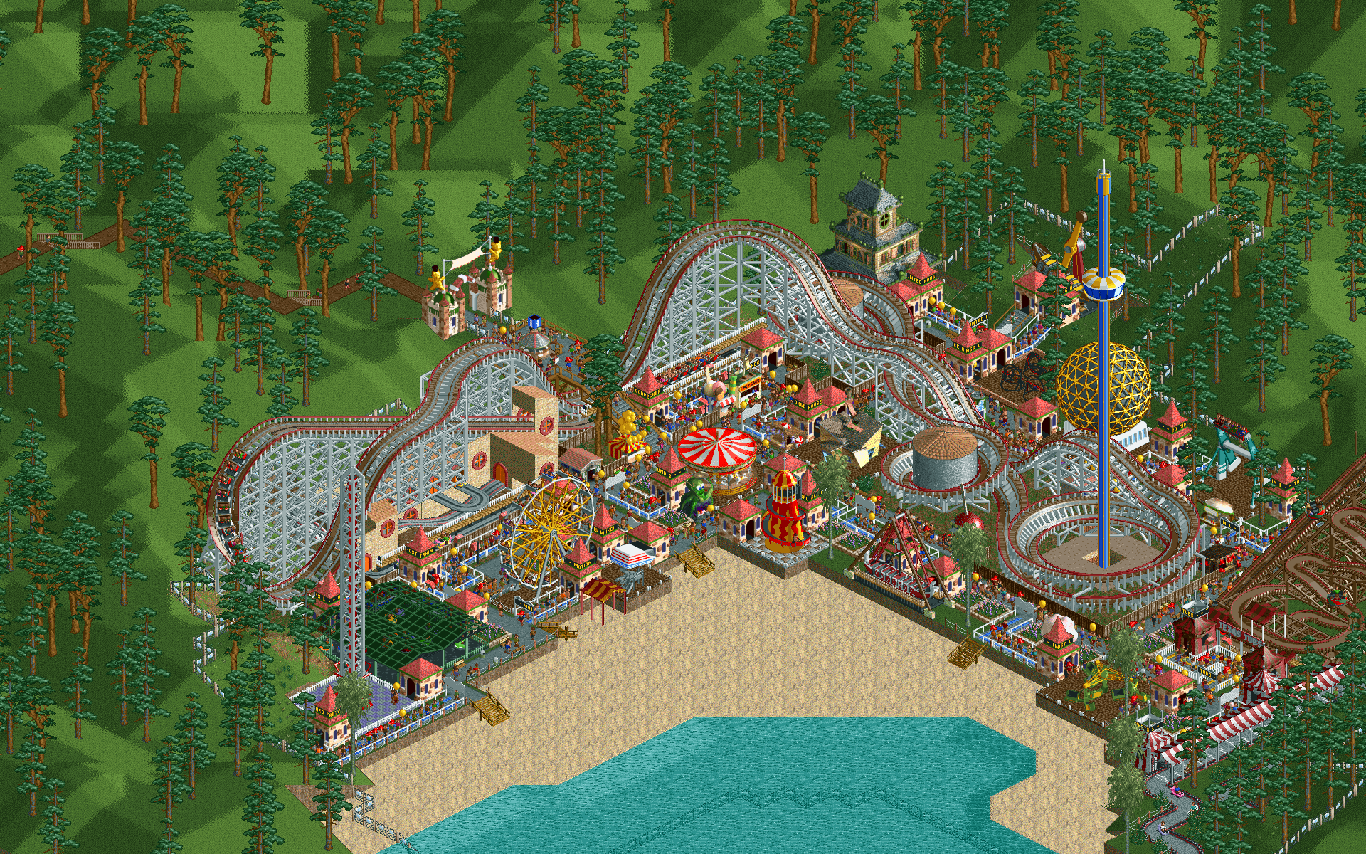 Roller Coaster Tycoon: Deterioration of a game series and