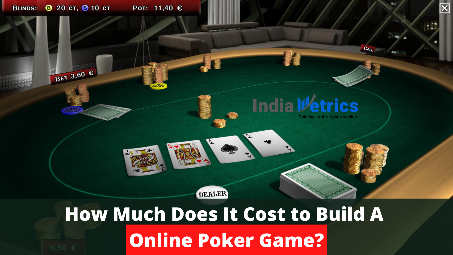 How Much Does It Cost To Build A Online Poker Game By India Metrics Mar 2021 Medium
