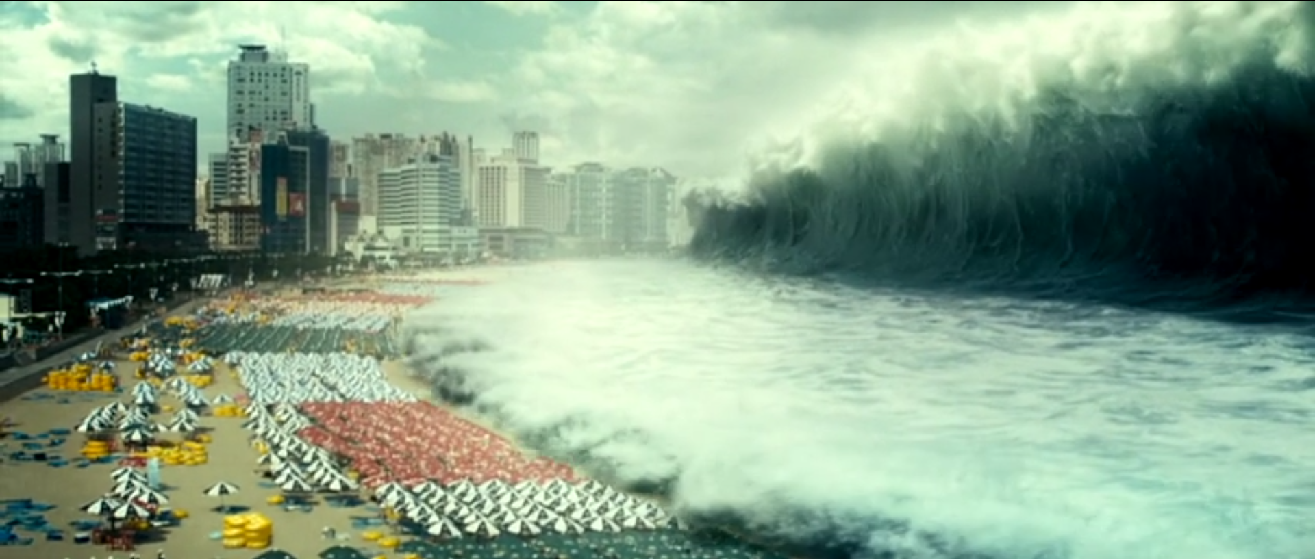 Haeundae/Tidal Wave is a monster movie where the wave is the