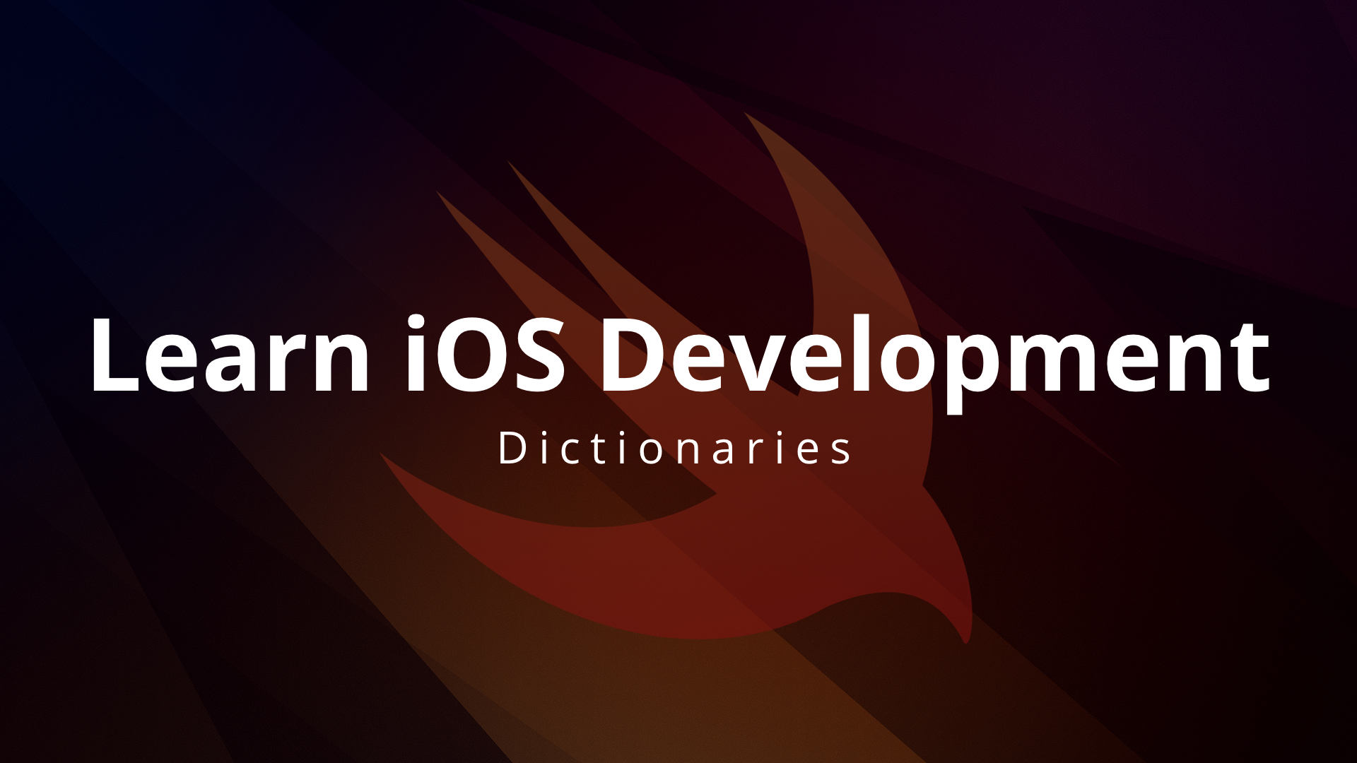 Learning Swift and iOS Development Part 7: Dictionaries