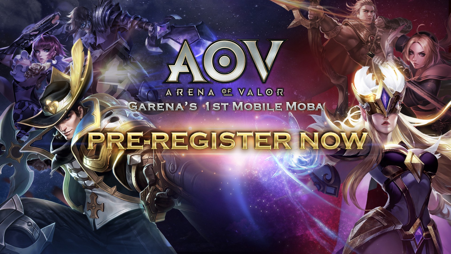 Garenas Arena of Valor MOBA game is coming to Malaysia