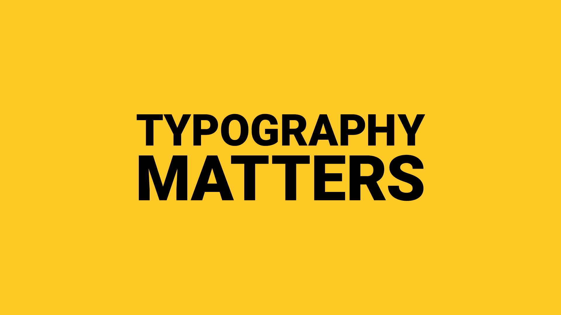 What should a new designer know about typography? – Muzli -Design Inspiration