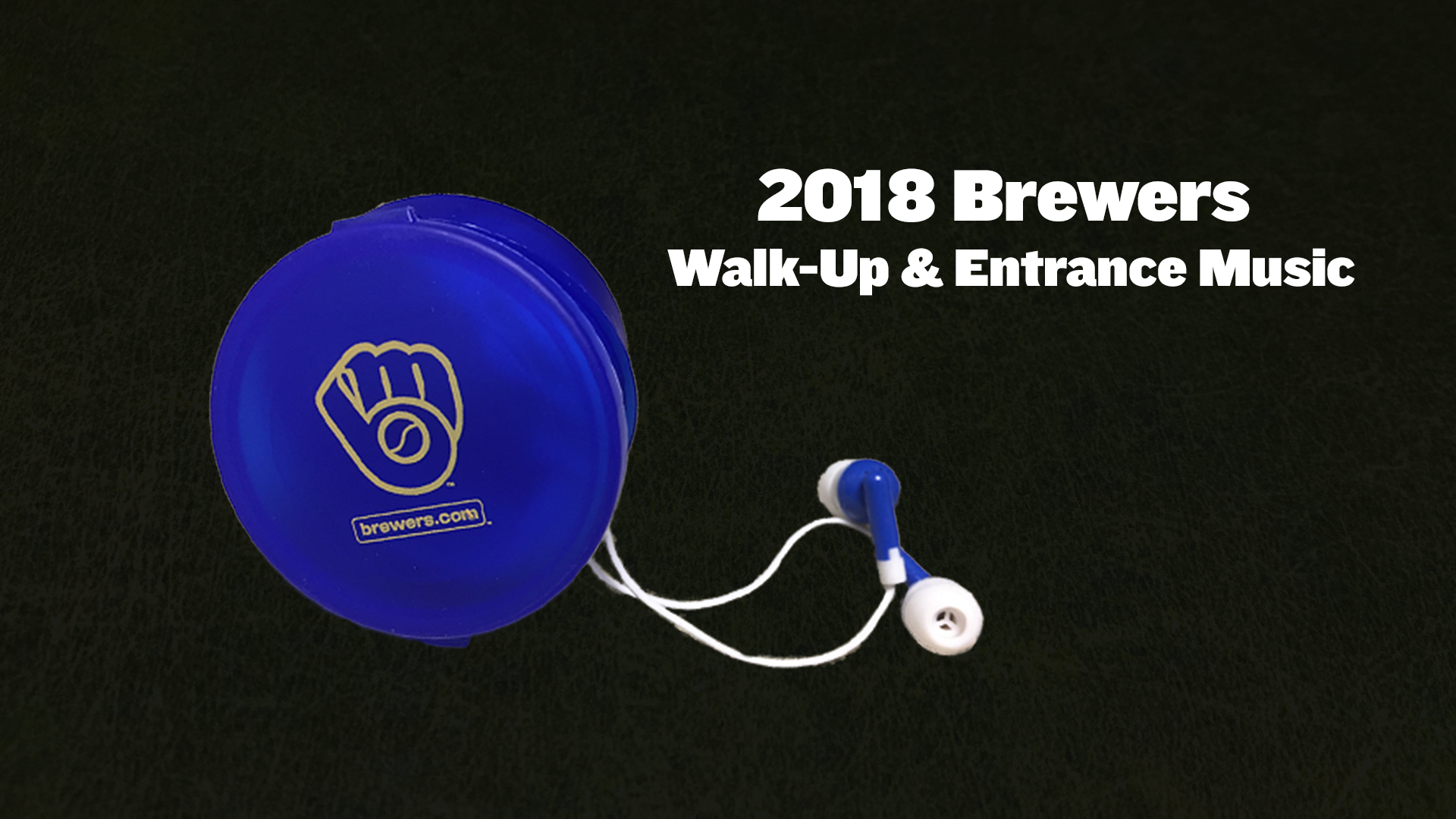 2018 Brewers At Bat & Walk-Up Music - Cait Covers the Bases