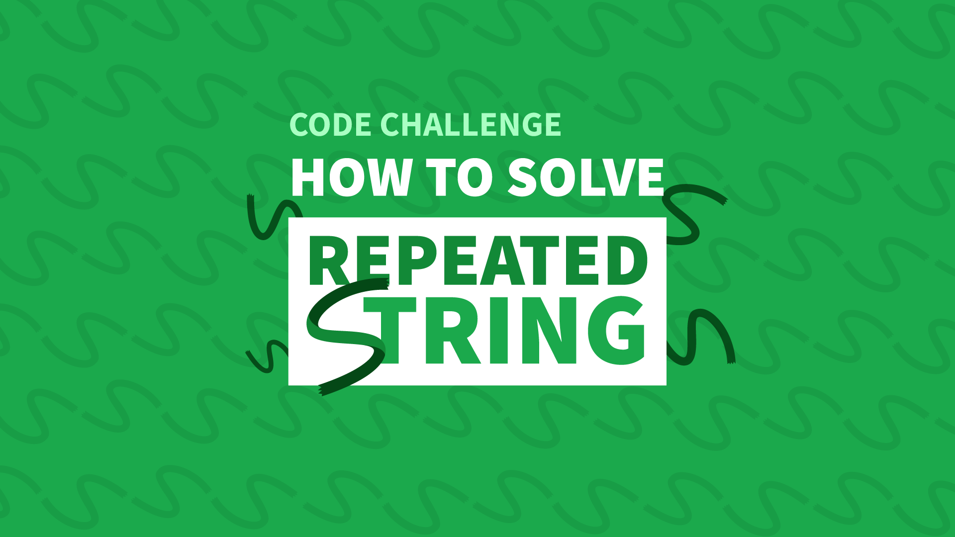 How To Solve The Repeated String Challenge - Manny Codes