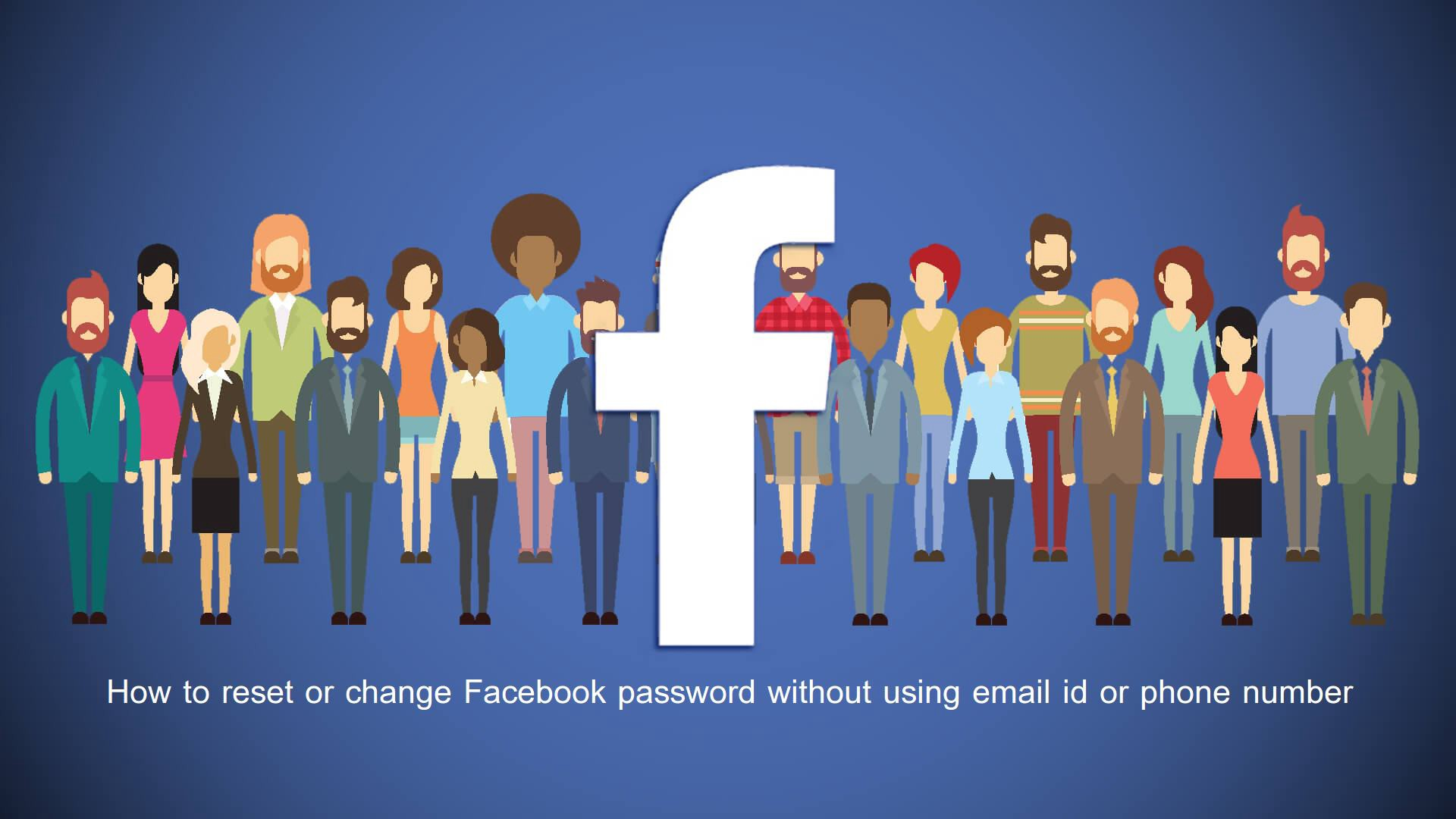 Way to Reset Facebook password without email - kite ross