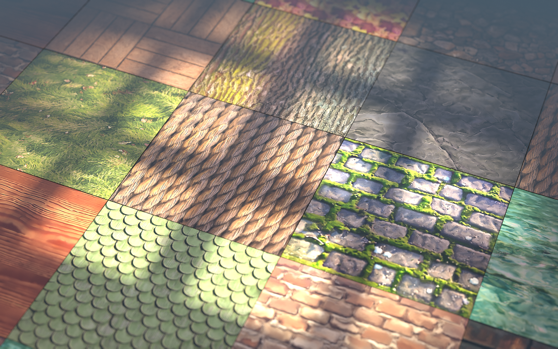 Hand Painted Textures Without Painting