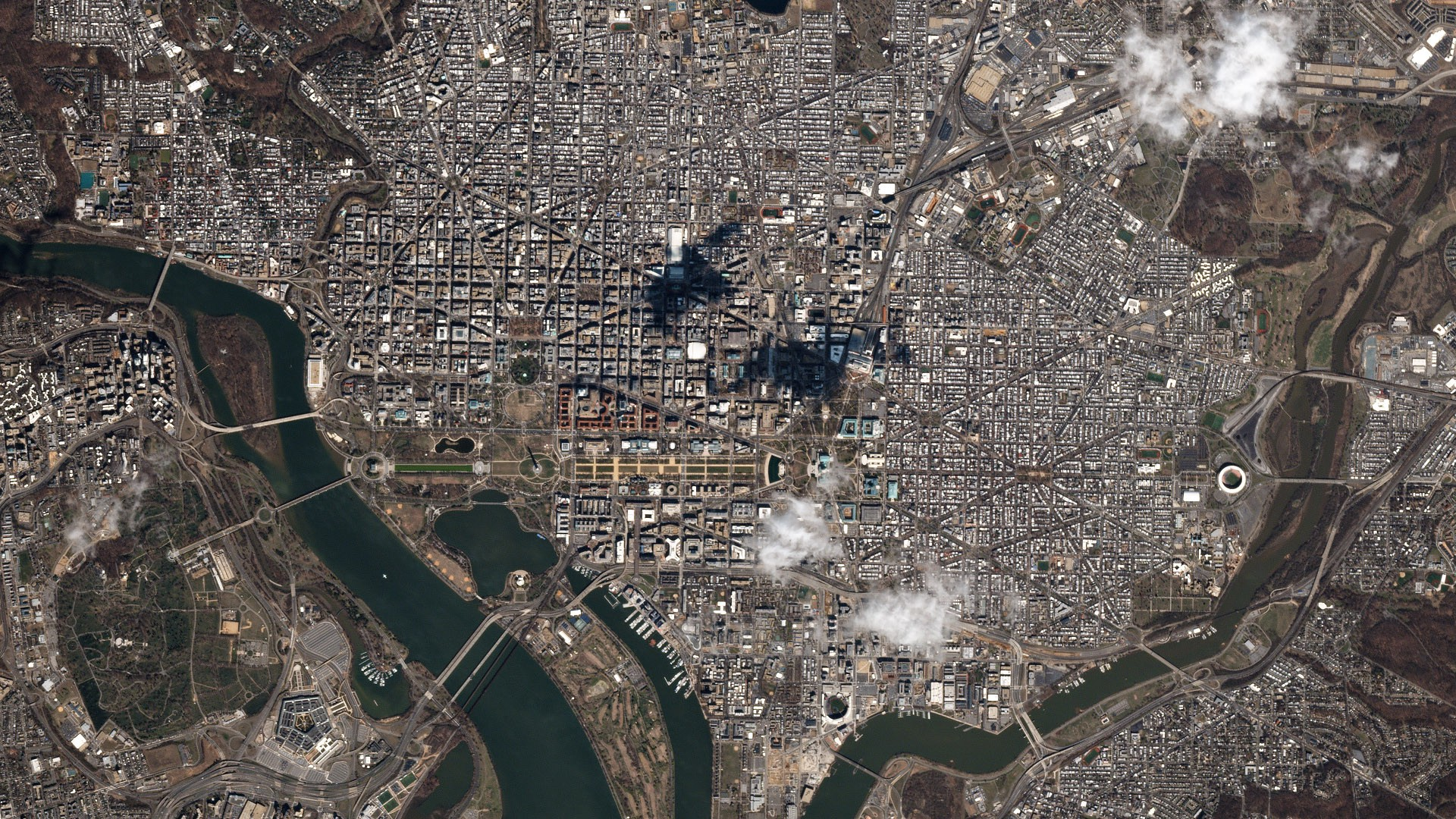 Popular News in 2017, as Seen From Space - Planet Stories